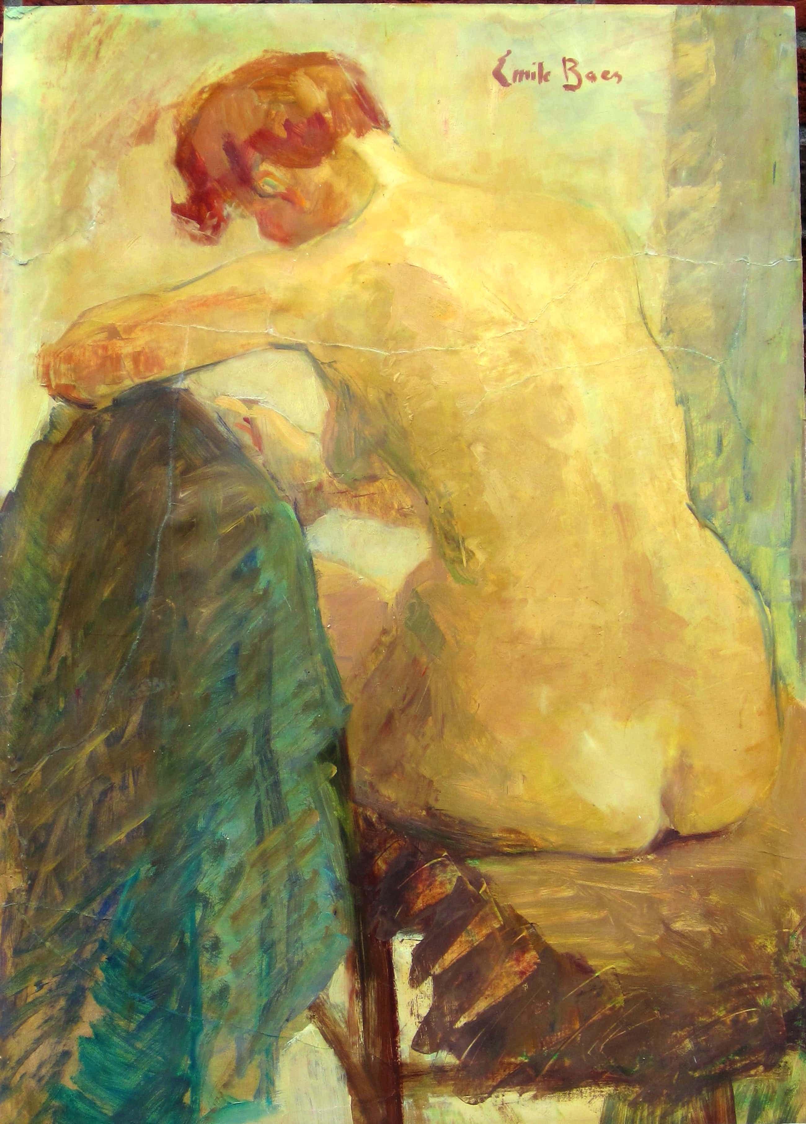 Emile Baese - Emile Baes 1879-1954 Brussel - Parijs vrouwelijk naakt kopen? Bied vanaf 930!