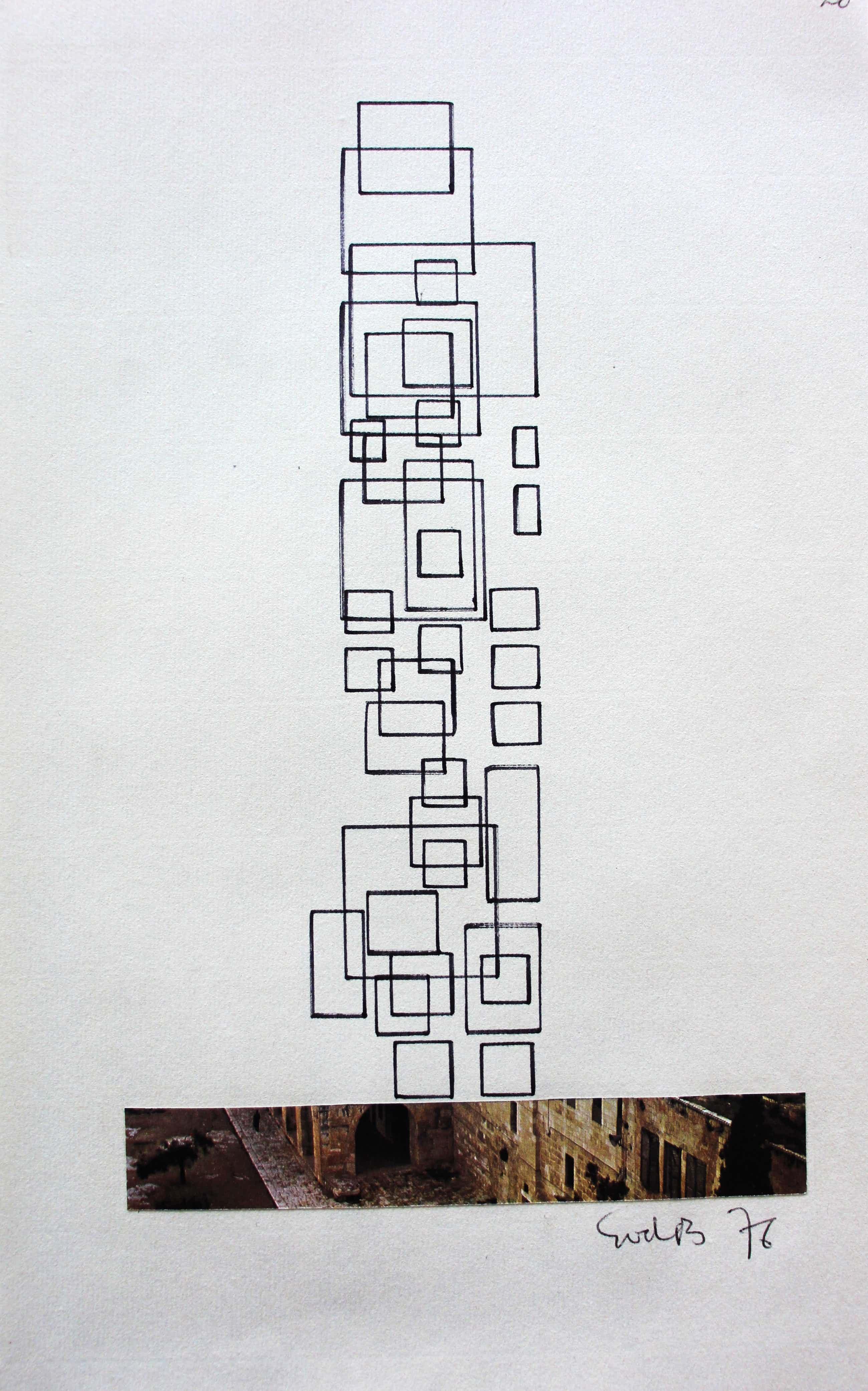 Siep van den Berg - Stiftekening - 1976- gesigneerd kopen? Bied vanaf 75!