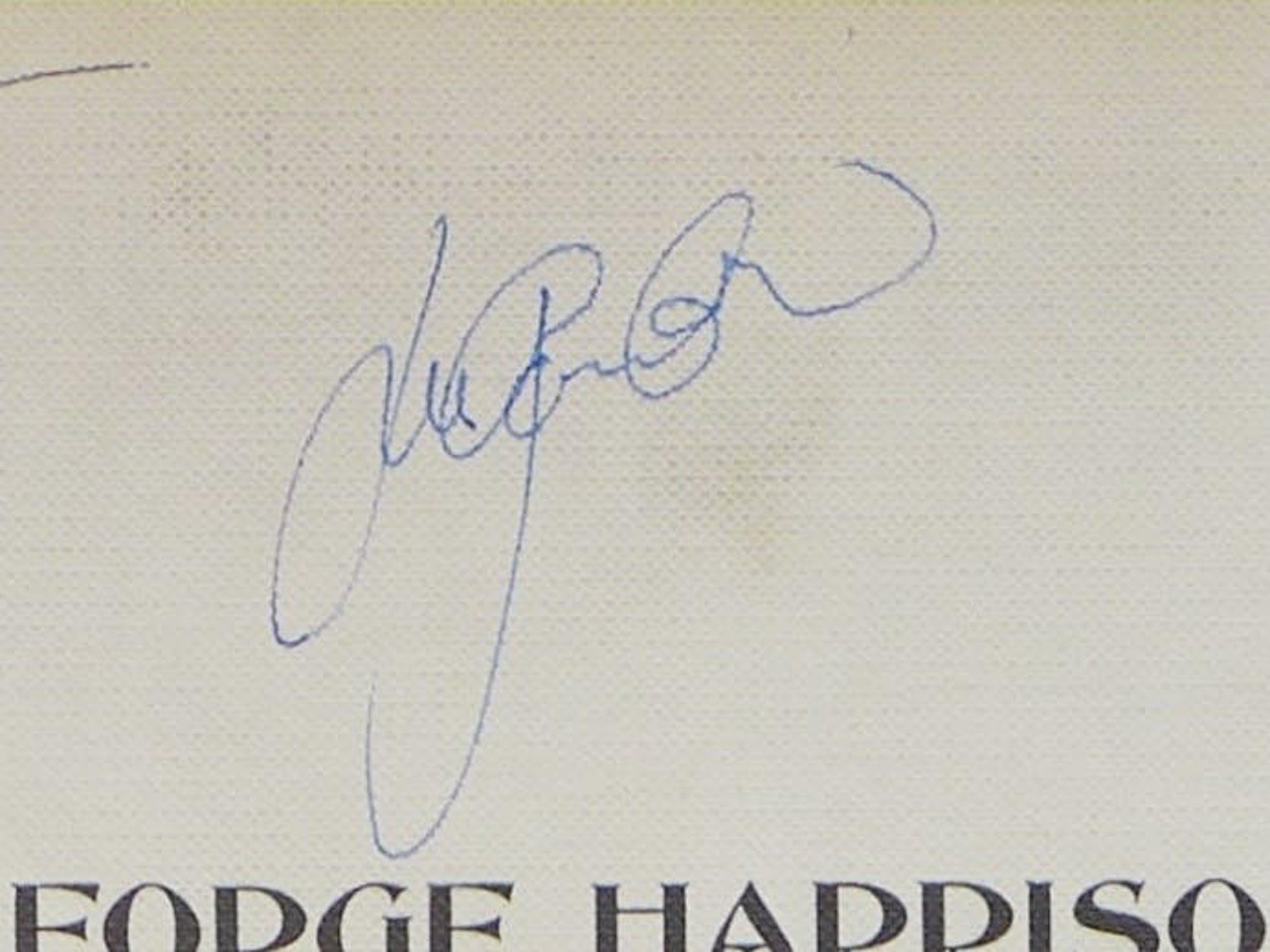 George Harrison - All Things Must Pass, 3 LP Box Poster signiert von Harrison, Starr, Clapton +4 kopen? Bied vanaf 99!