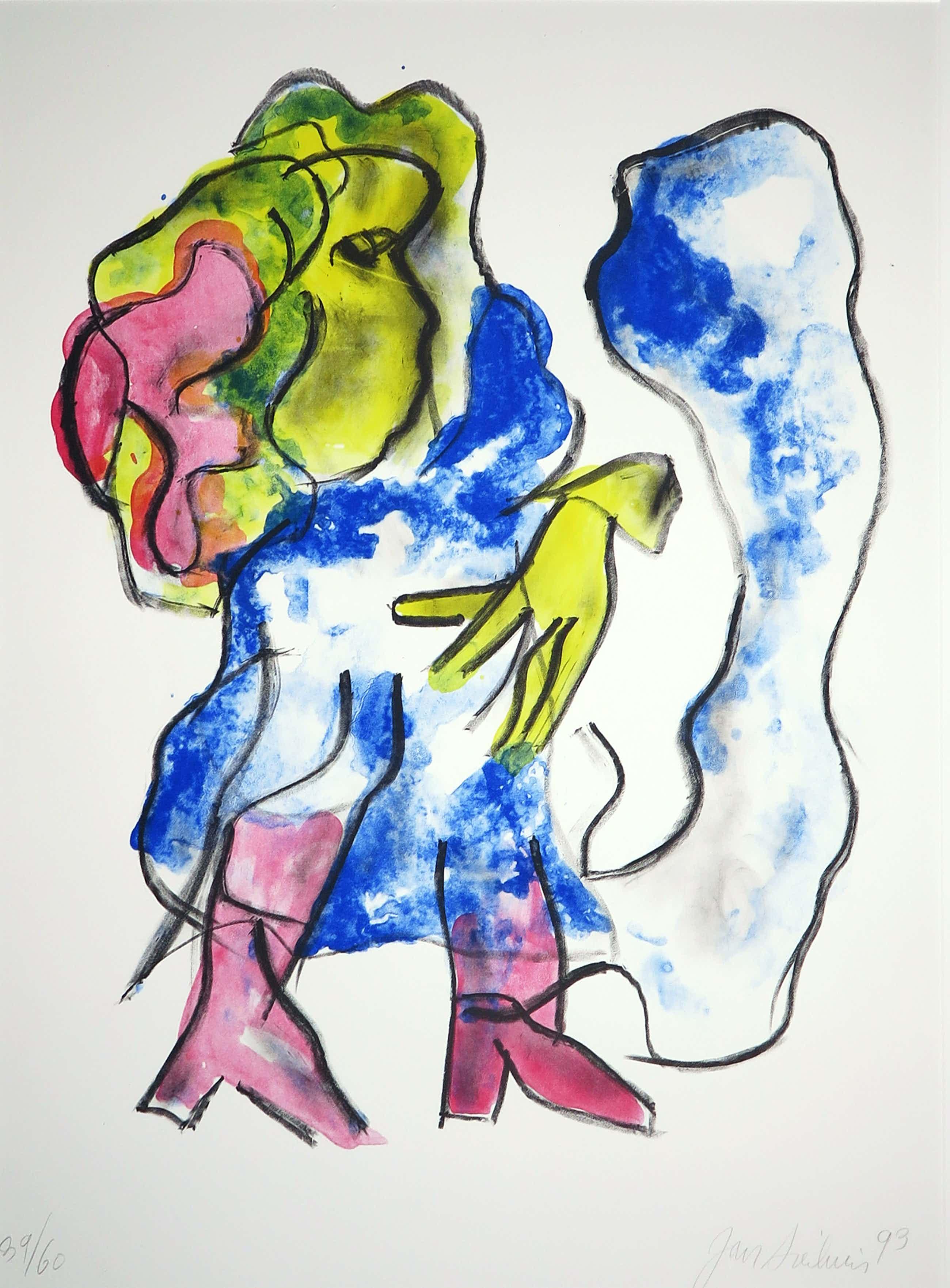 Jan Sierhuis - Litho, Flamenco kopen? Bied vanaf 19!