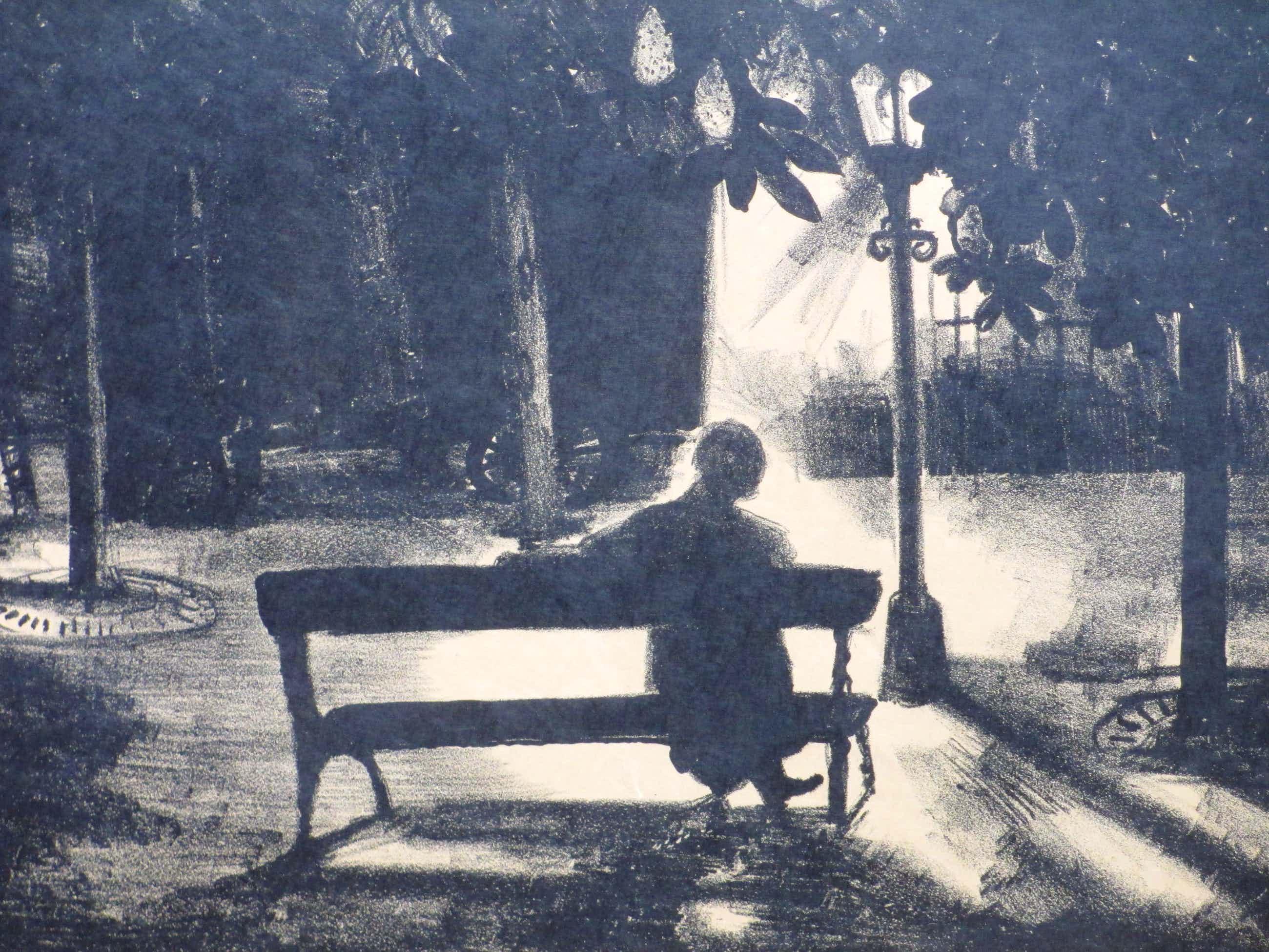 Jeanne Bieruma Oosting - Meditation triste - Litho kopen? Bied vanaf 60!