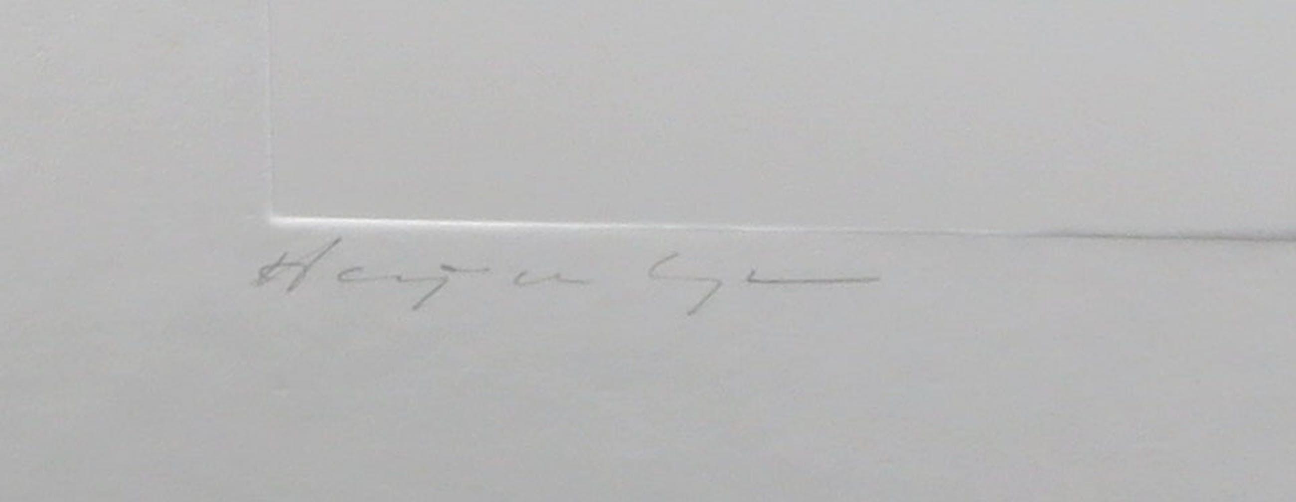 Harry van Kuyk - Reliëfdruk, U (uit het Groot Abecedarium) - Ingelijst kopen? Bied vanaf 150!