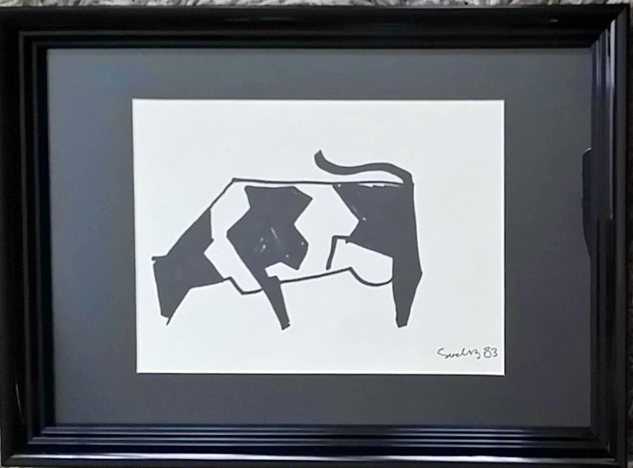 Siep van den Berg - Compositie van koe kopen? Bied vanaf 70!