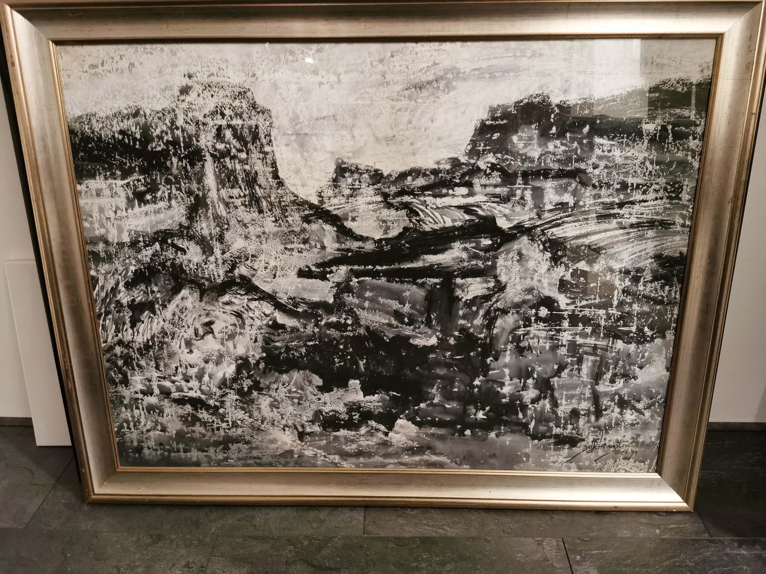 Jelle Hoogstra - Abstract Landschap kopen? Bied vanaf 48!