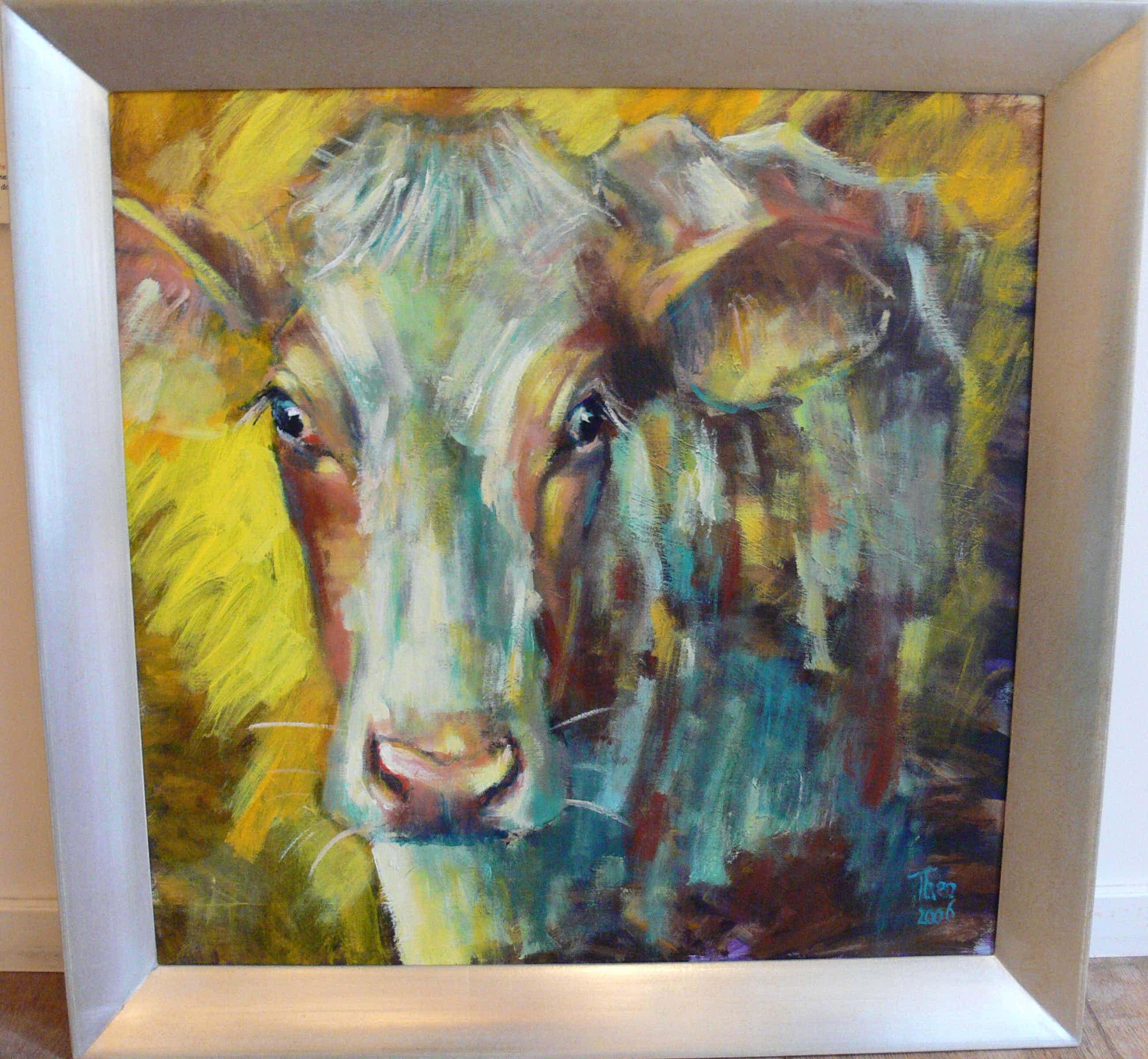 Theo Onnes - Roodbonte koe kopen? Bied vanaf 550!