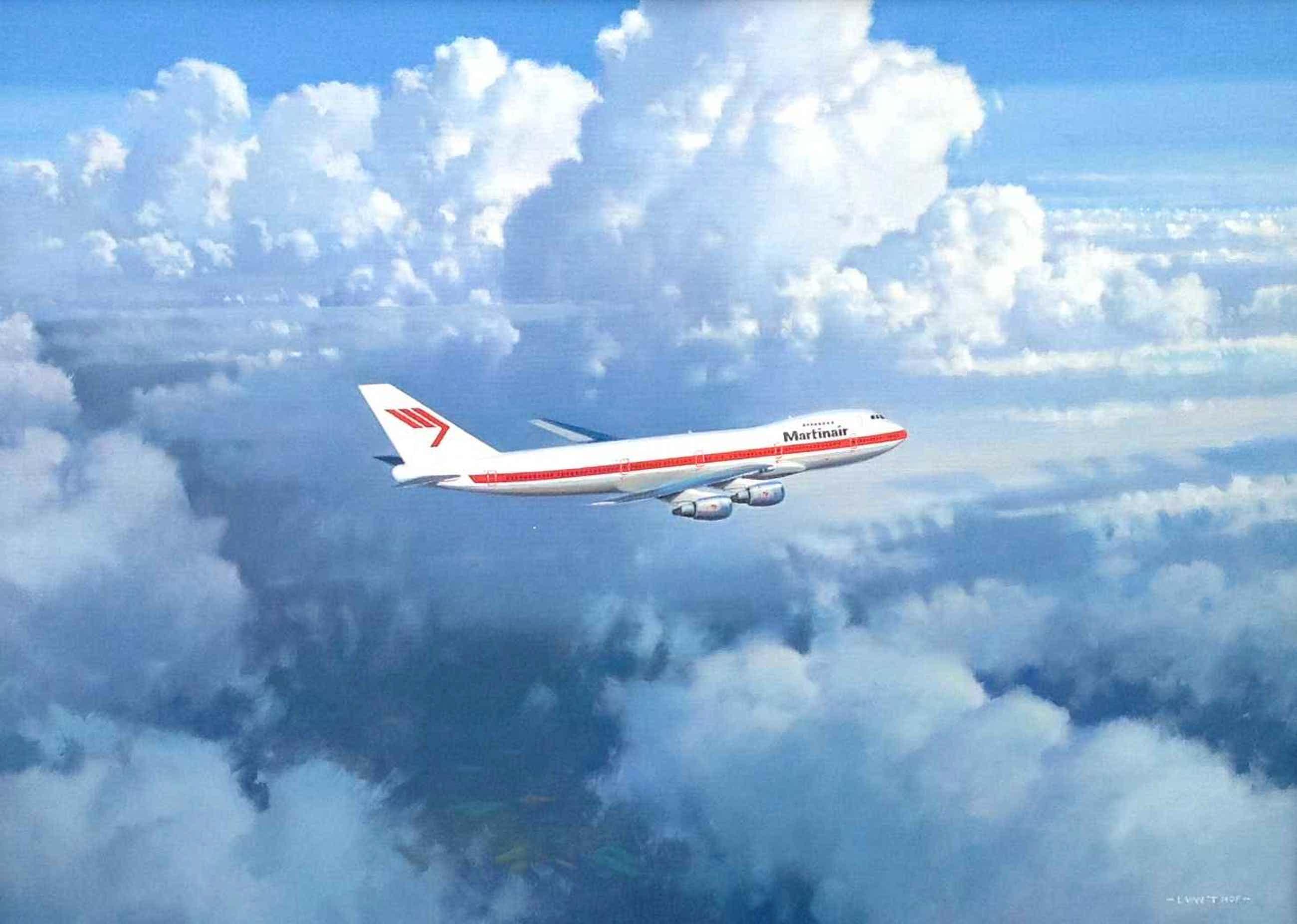 Lam van 't Hof - B442 - Vliegtuig Martinair kopen? Bied vanaf 300!