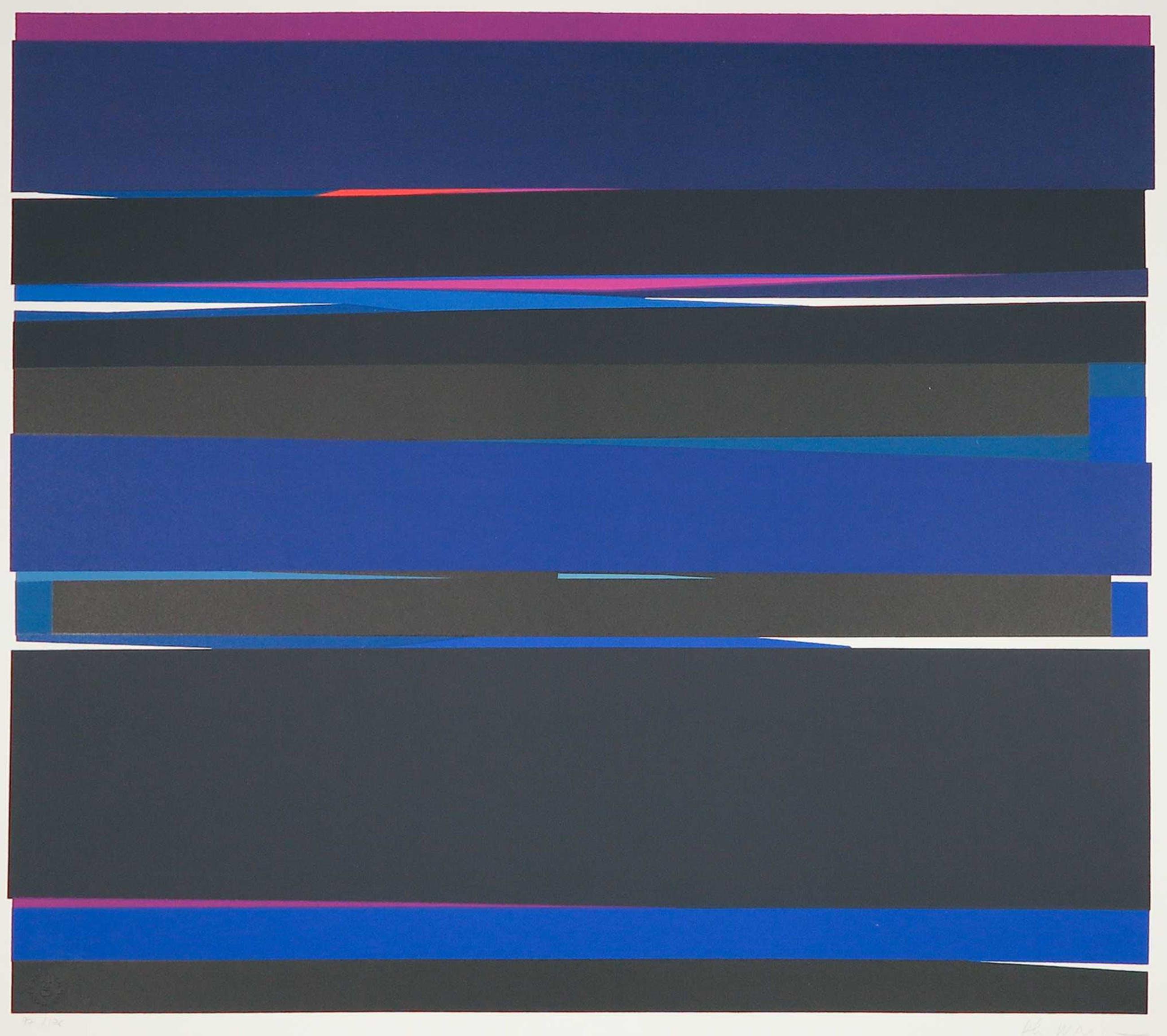 Philippe Morisson - Zeefdruk, Z.T. Abstract-geometrische compositie kopen? Bied vanaf 50!