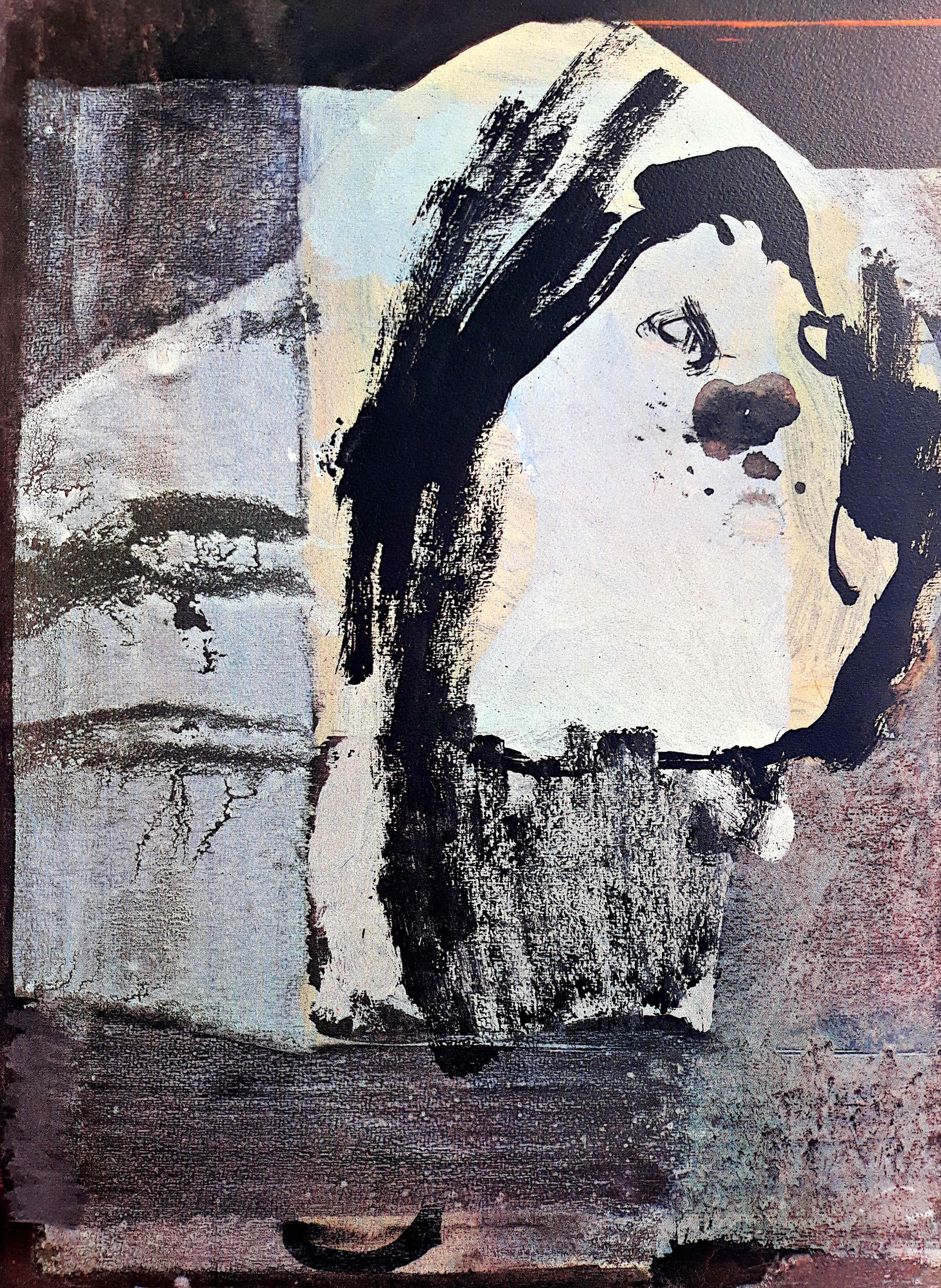 Gerard Leonard van den Eerenbeemt - Abstracte compositie, zeefdruk kopen? Bied vanaf 35!