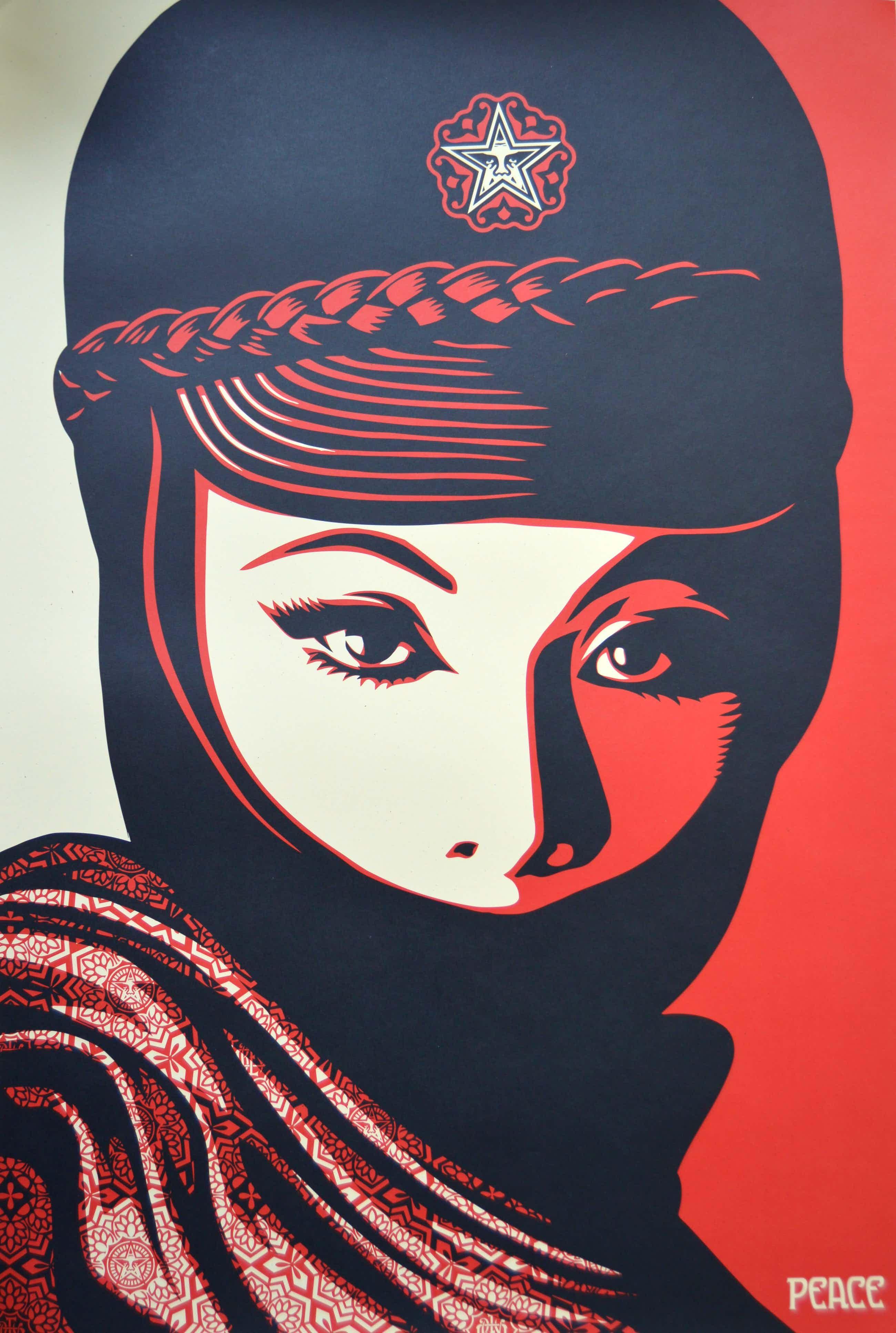 Shepard Fairey - Mujer Fatale - gesigneerd kopen? Bied vanaf 141!