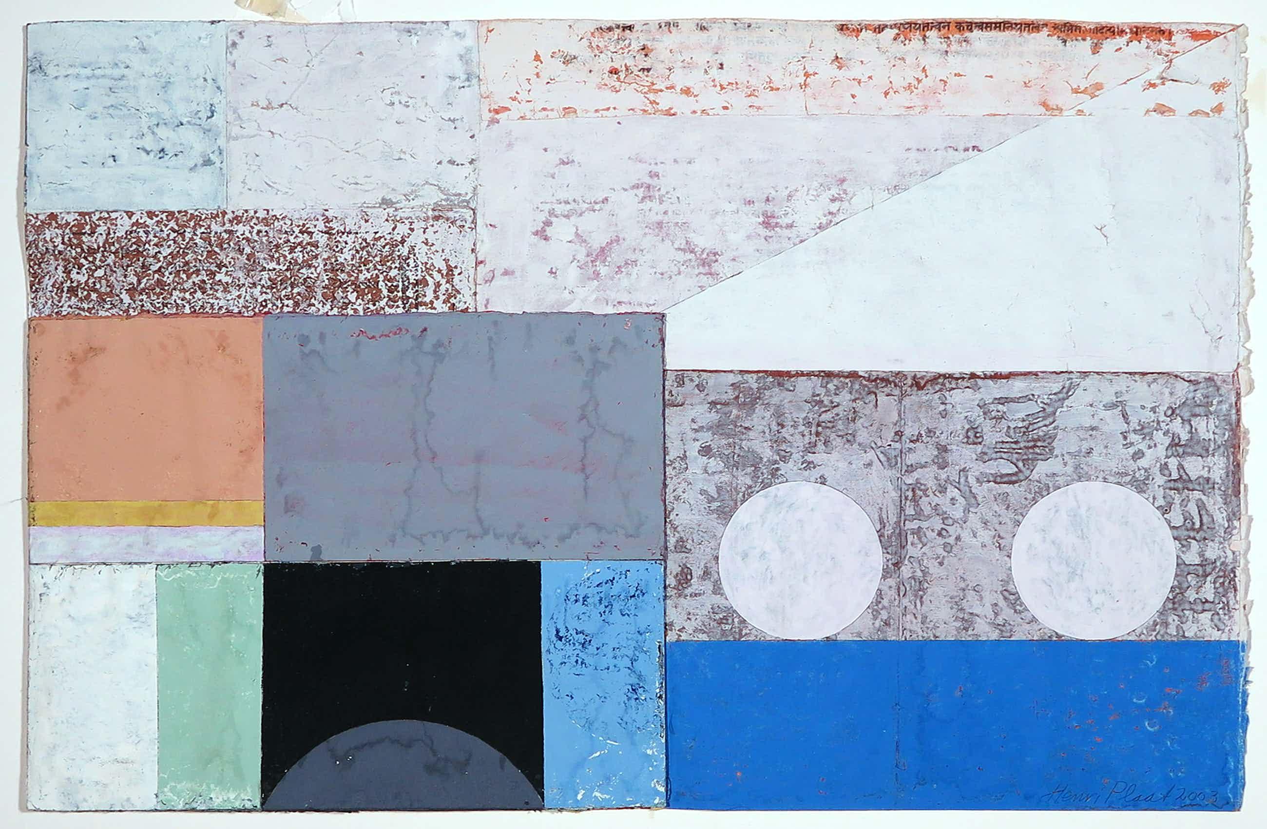 Henri Plaat - Gouache op papier, Abstract kopen? Bied vanaf 112!