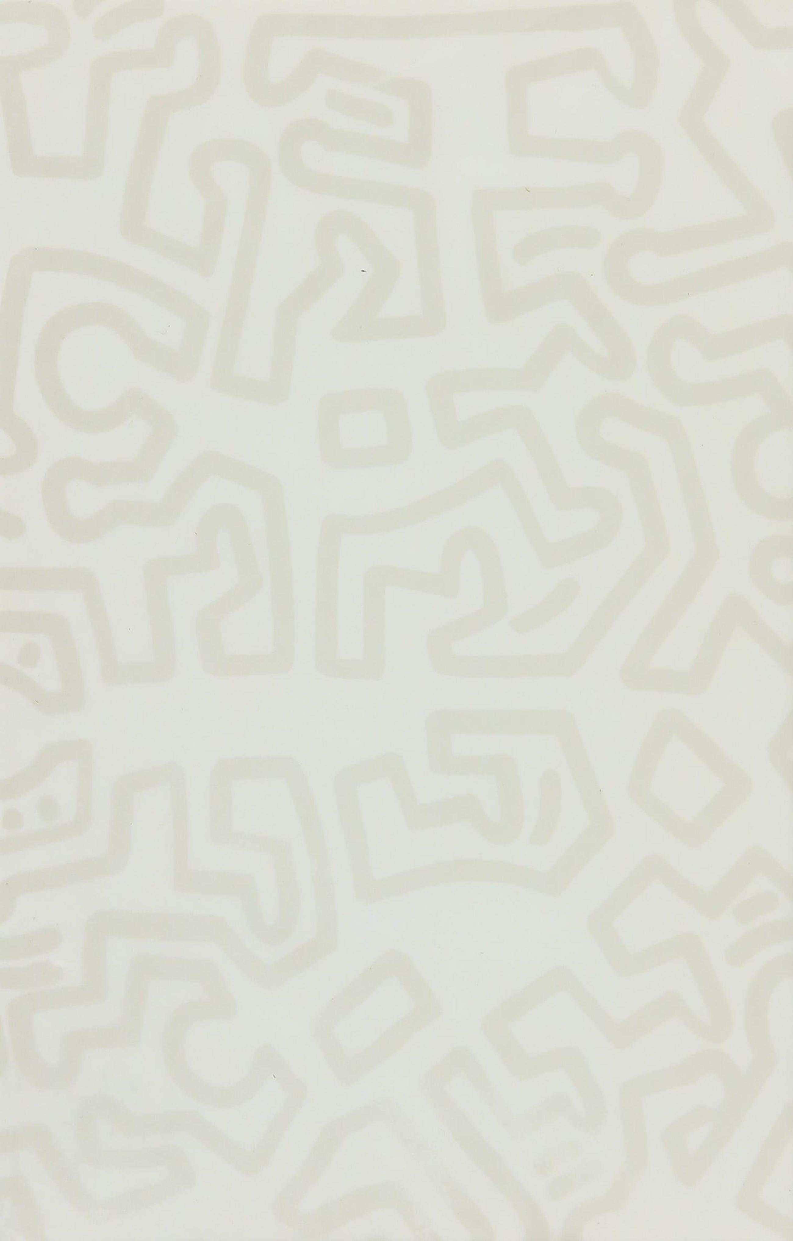 Keith Haring - Gesigneerde foto met tekening en schutblad - Ingelijst kopen? Bied vanaf 1!