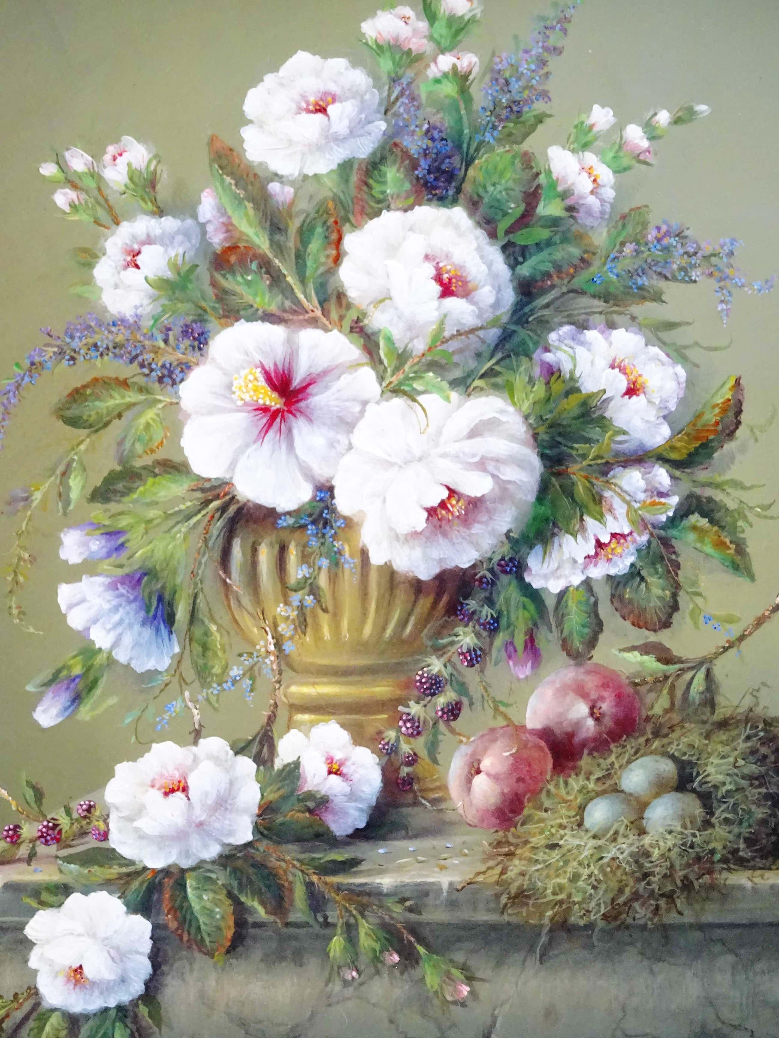 Thomas Heesakkers - Mooi schilderij pronkstilleven Thomas Heesakkers op paneel. kopen? Bied vanaf 625!