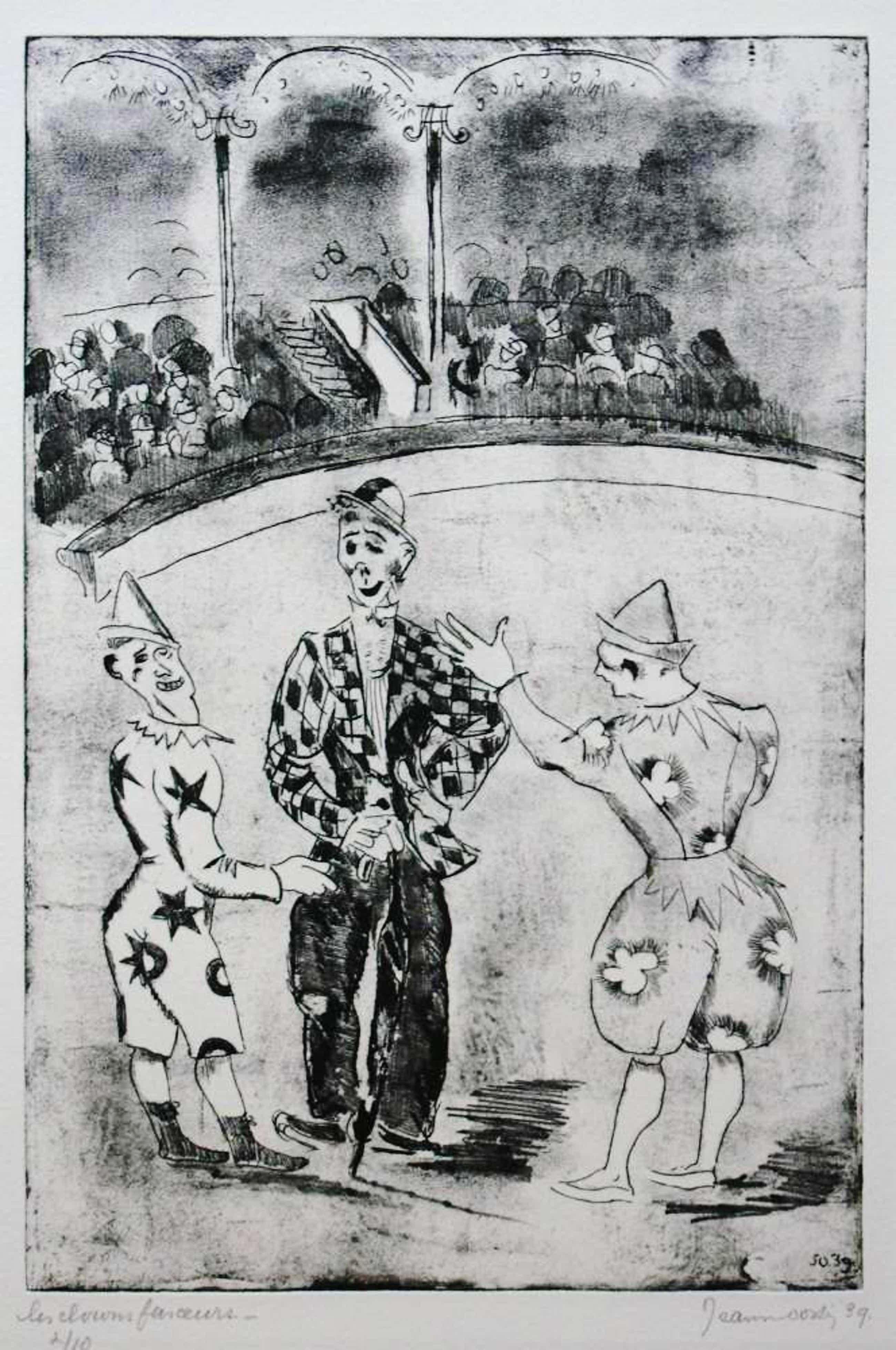 Jeanne Bieruma Oosting - Les clowns farceurs' kopen? Bied vanaf 160!