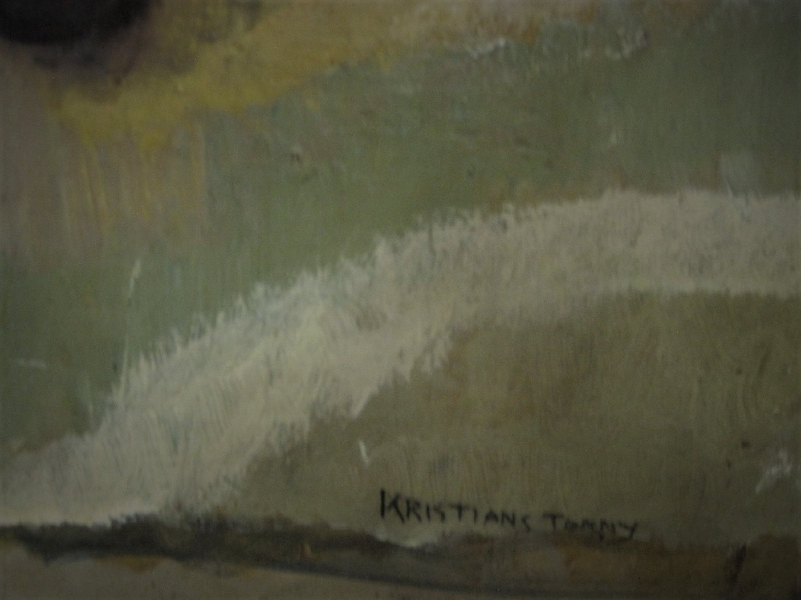 """Tonny Kristians - Bijzonder olieverf """"fruitstilleven"""" van vergeten Amsterdamse Surrealist kopen? Bied vanaf 10!"""