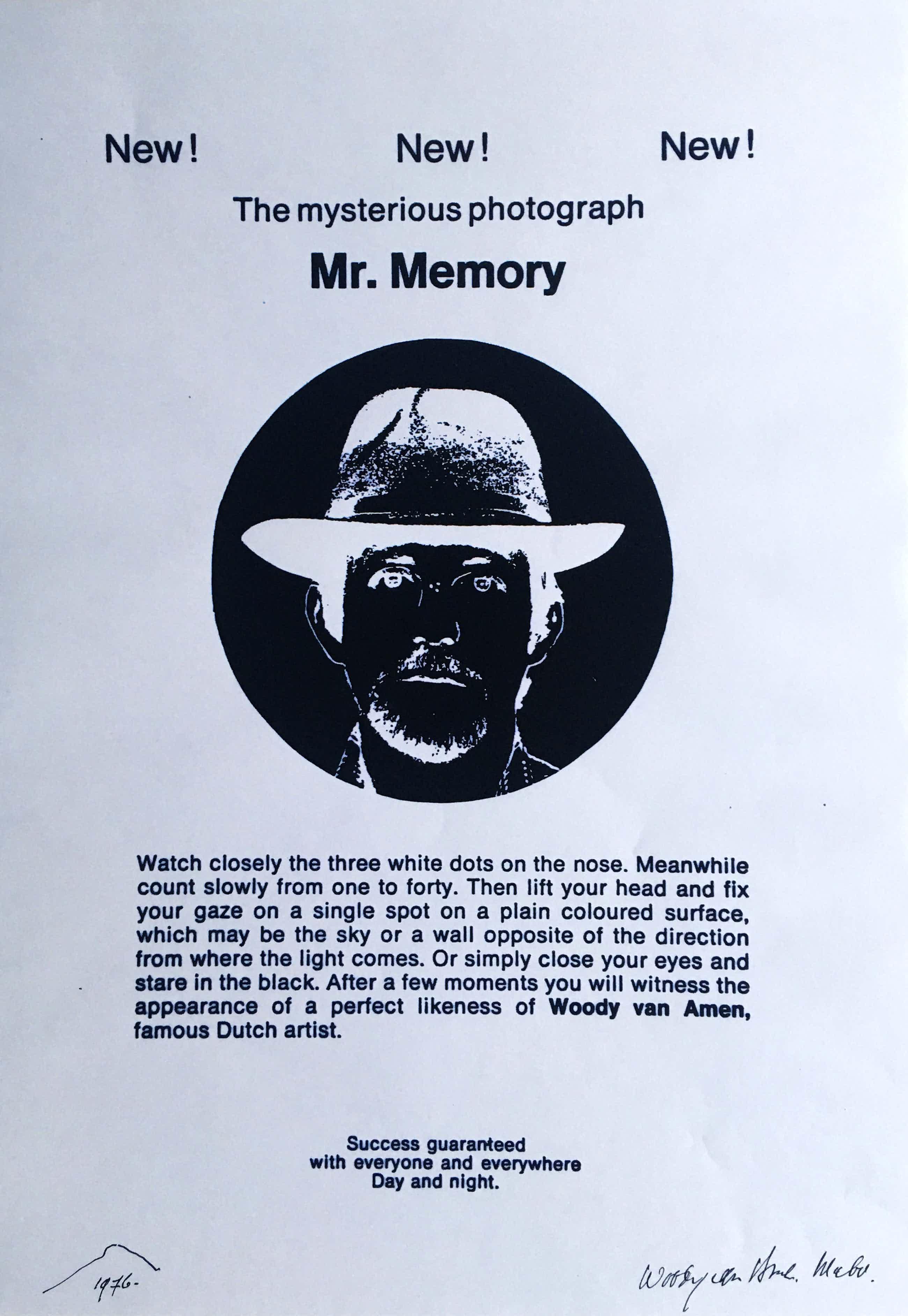 Woody van Amen - fraaie popart computerprint kopen? Bied vanaf 45!