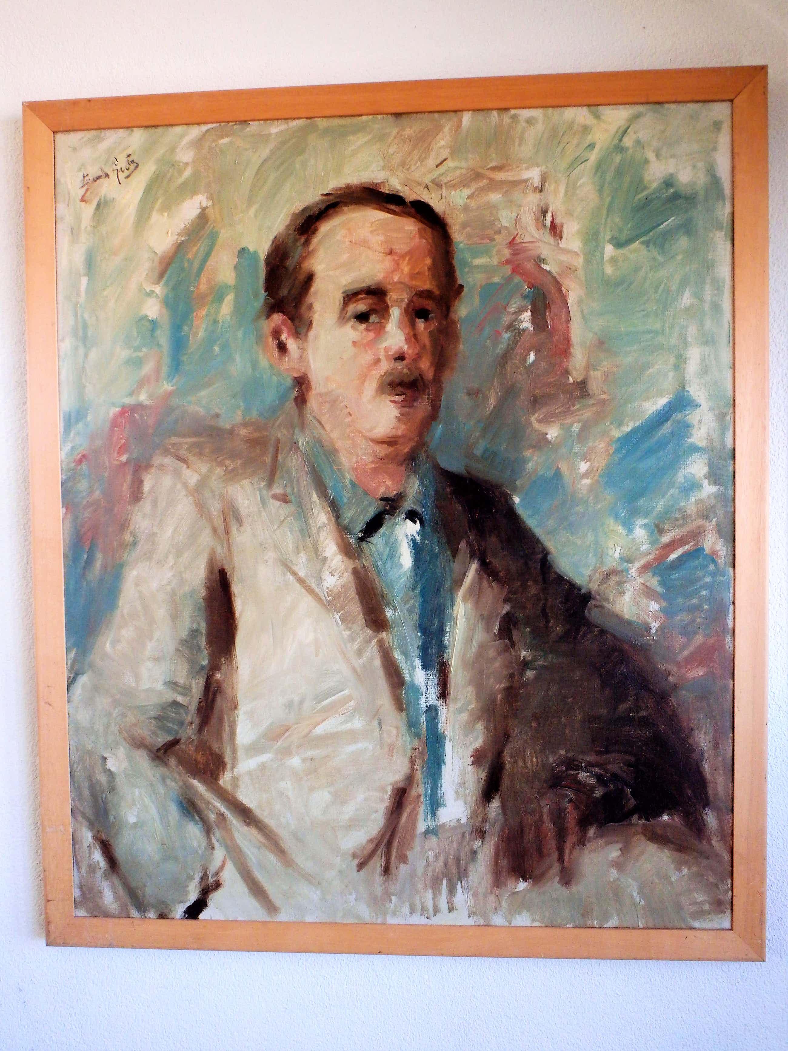 Bernard Lutz - Zelfportret kopen? Bied vanaf 75!