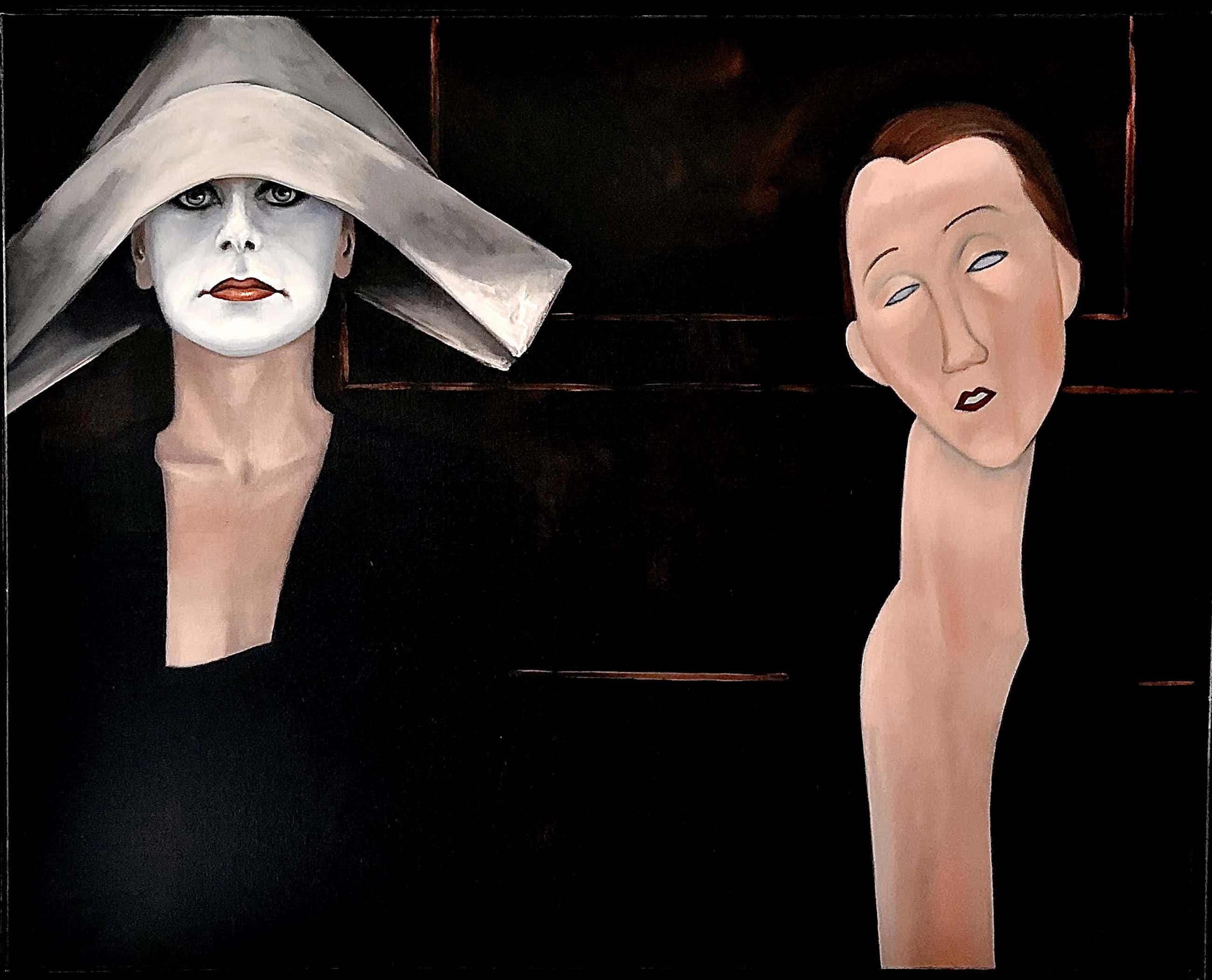Ans Markus - Hommage aan Modigliani kopen? Bied vanaf 7750!