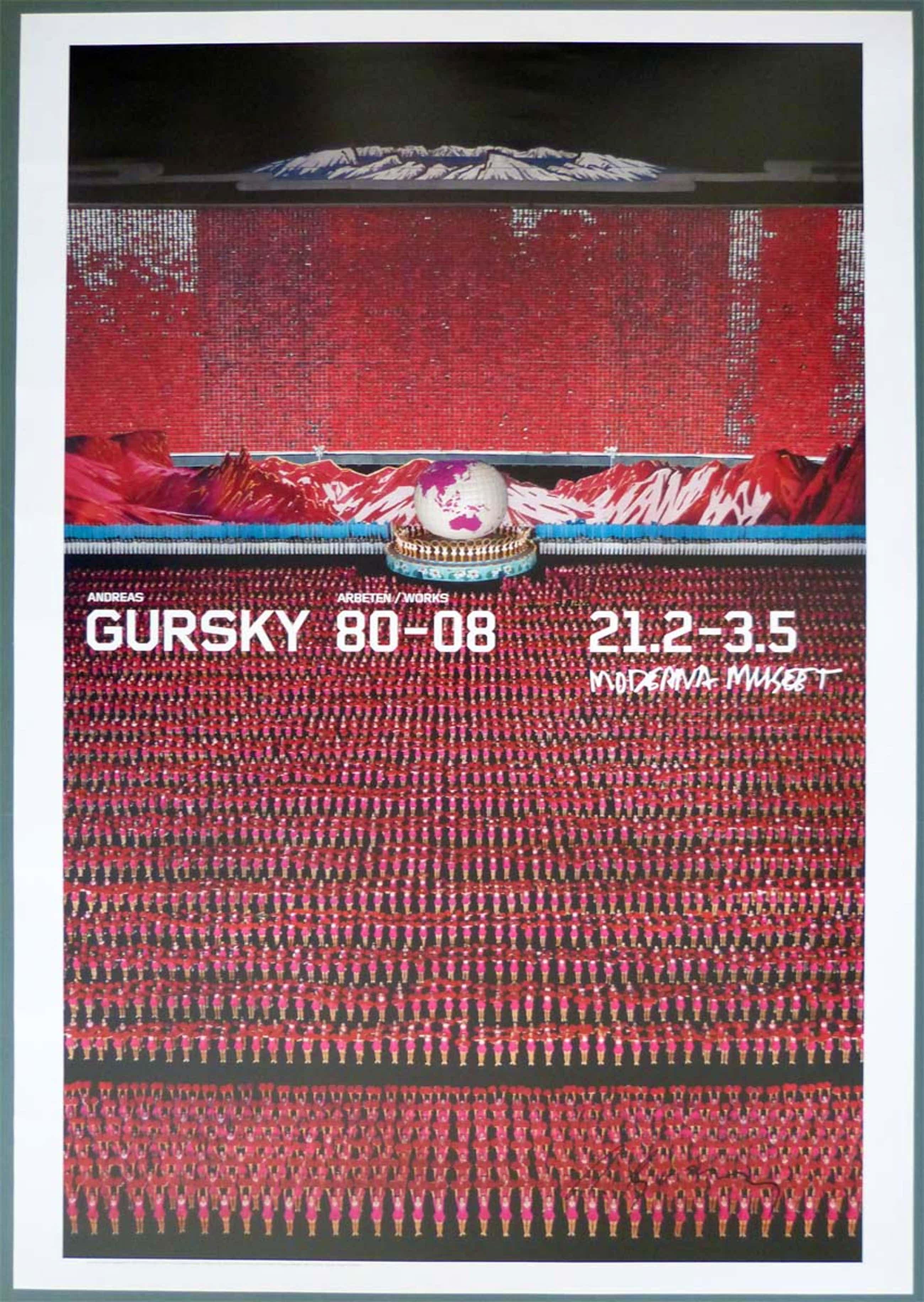 """Andreas Gursky - """"Pyongyang IV"""" Moderna Museet Stockholm 2009 kopen? Bied vanaf 450!"""