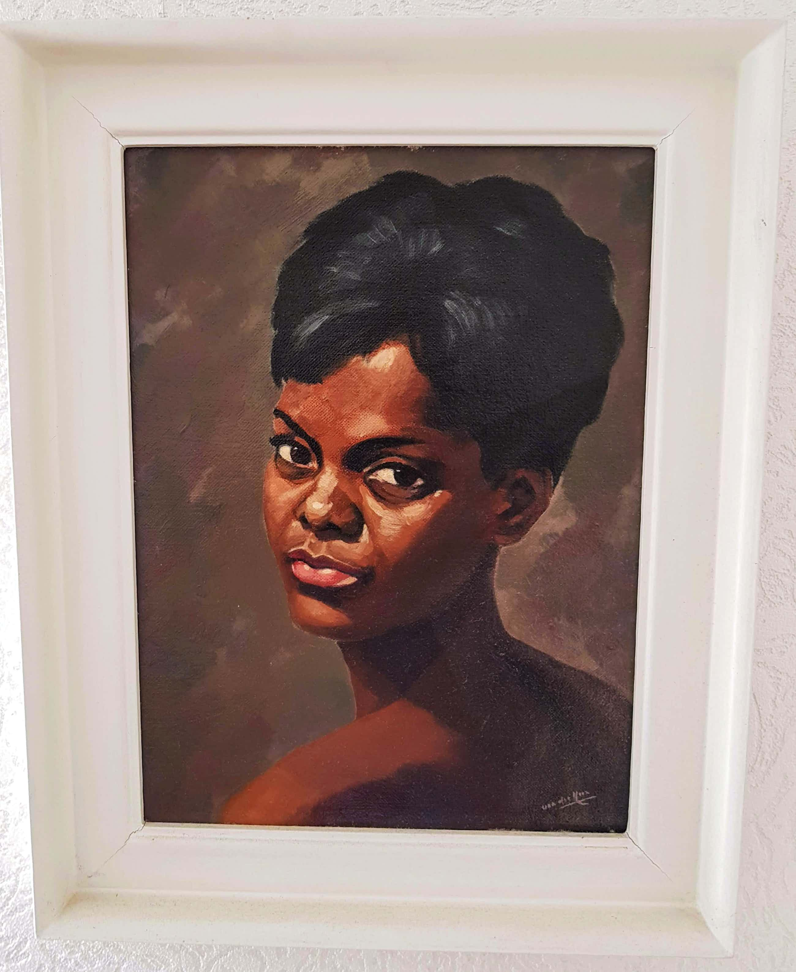 Maarten van der Meer - Portret van een Afrikaanse Vrouw kopen? Bied vanaf 150!