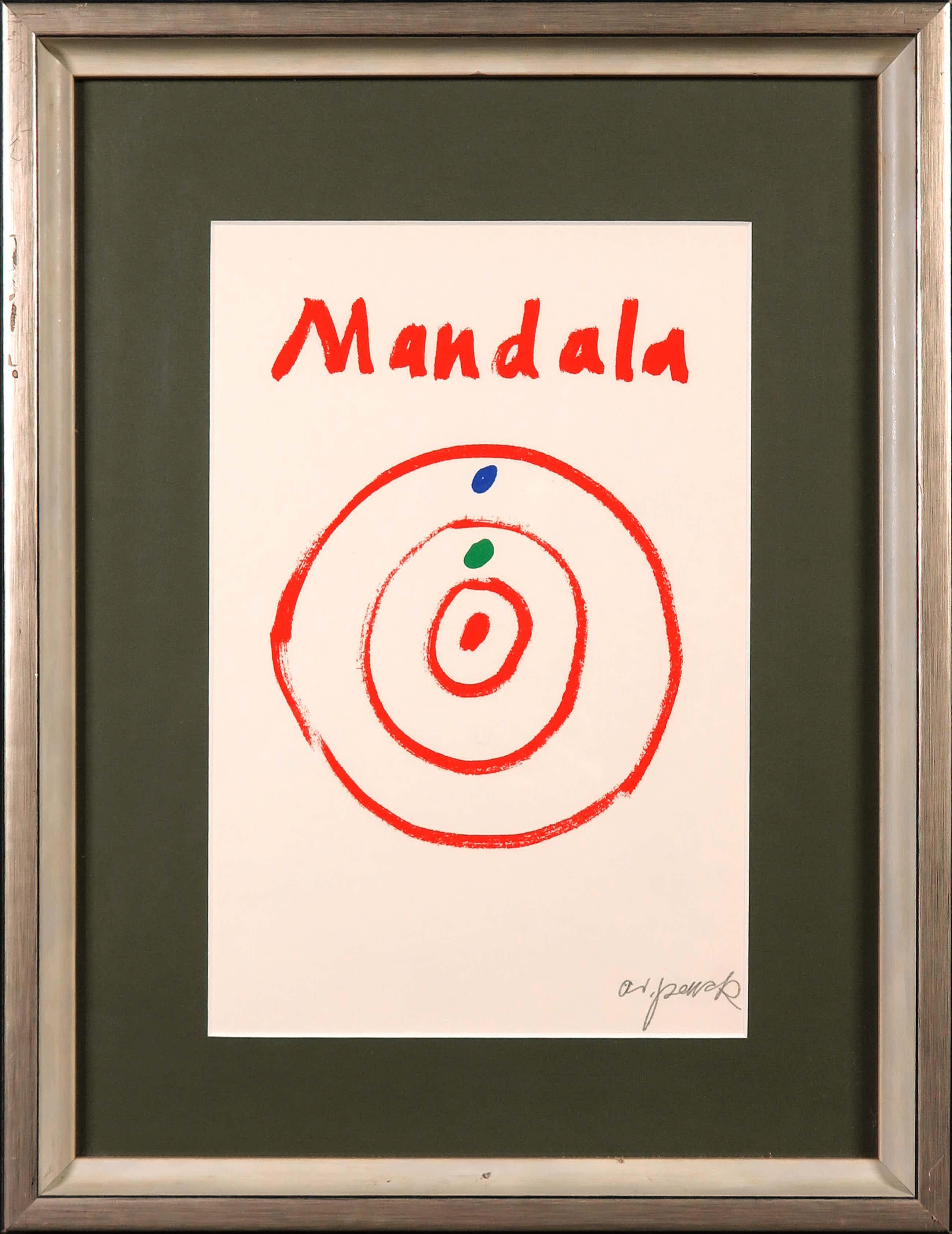 A.R. Penck - Zeldzame, handgesigneerde litho, Mandala kopen? Bied vanaf 130!