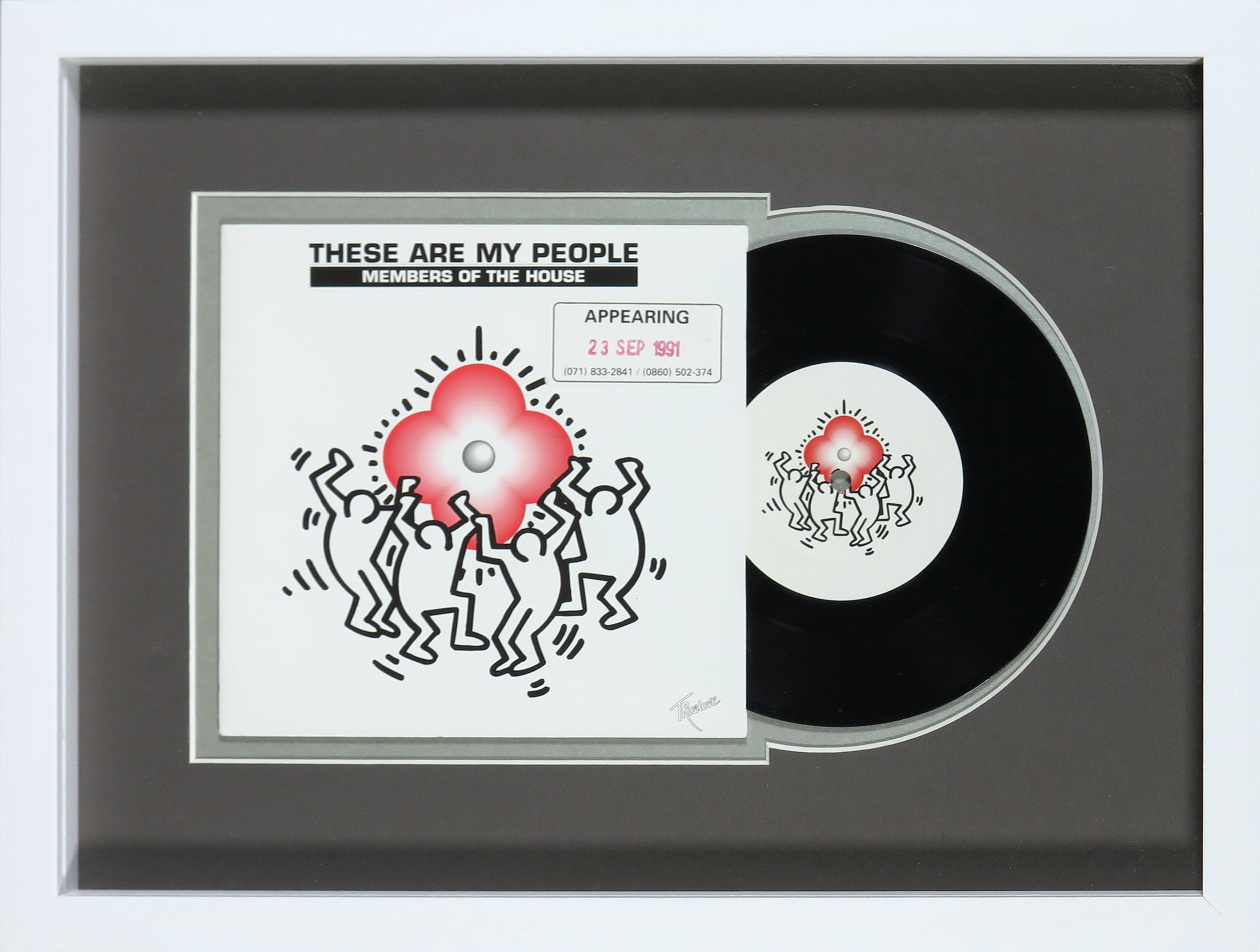 Keith Haring - Members of the House - These are my people kopen? Bied vanaf 1!