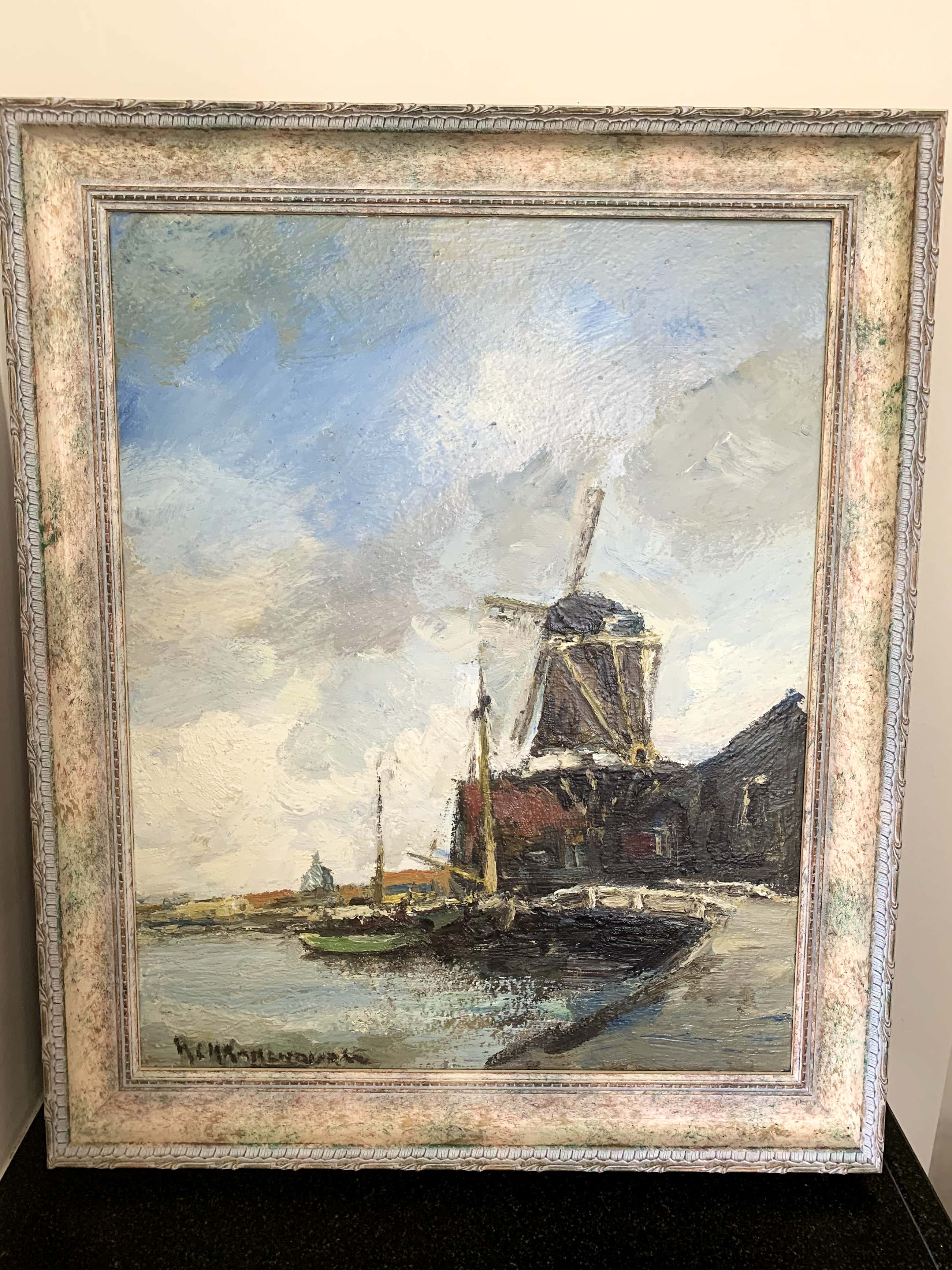 Hendrik Cornelis Kranenburg - Houtzaagmolen in de Zaanstreek kopen? Bied vanaf 150!