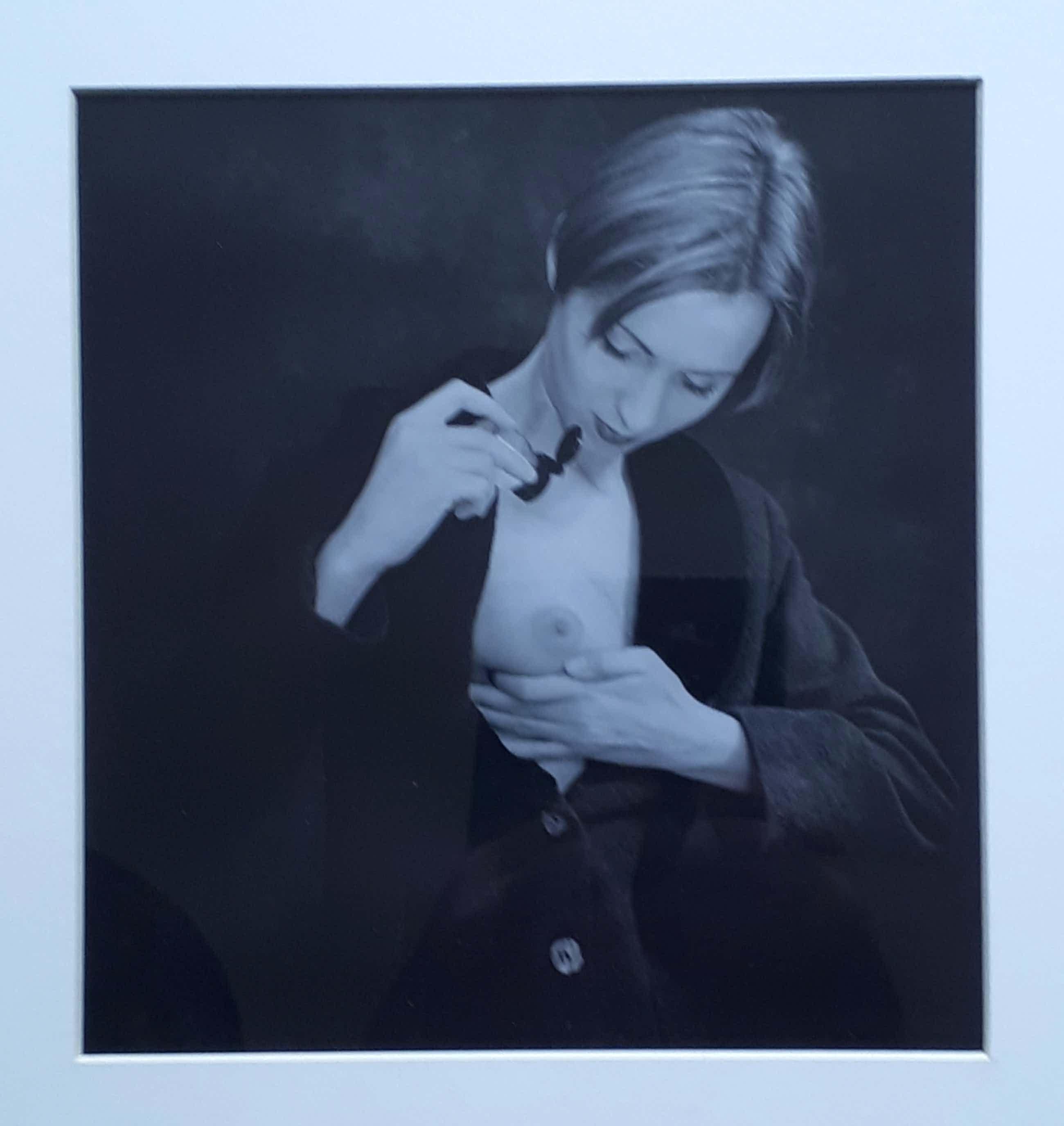 Theo Lode de Leede - Vrouw met ontblote borst - waarschijnlijk unicum ! kopen? Bied vanaf 25!