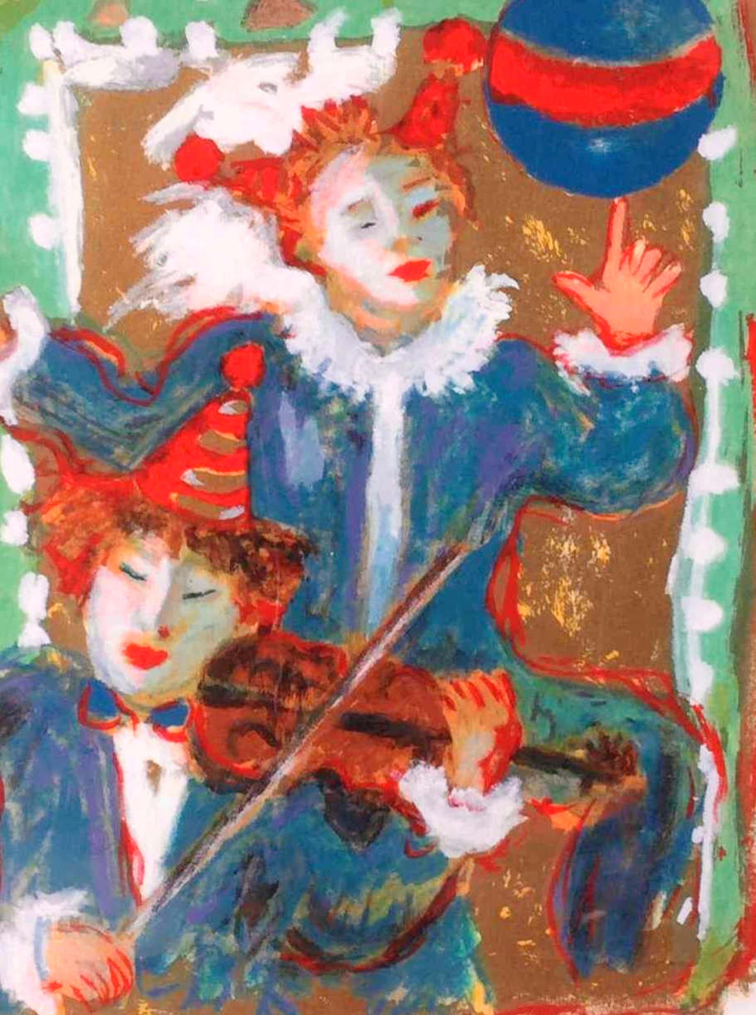 Annemarie de Groot - C4726-15, Clowns, litho '99 kopen? Bied vanaf 75!