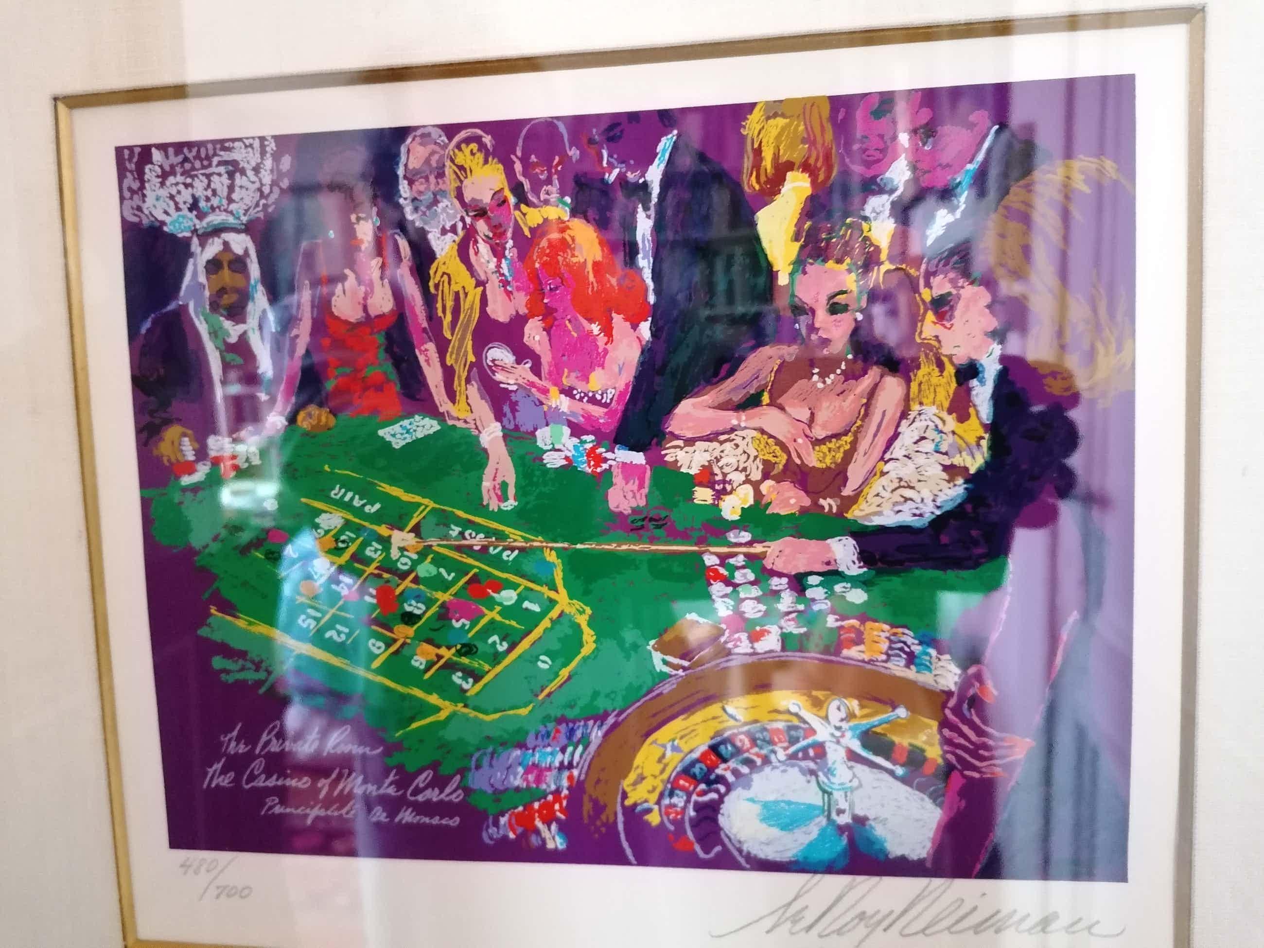 Leroy Neiman - 'Casino' kopen? Bied vanaf 395!