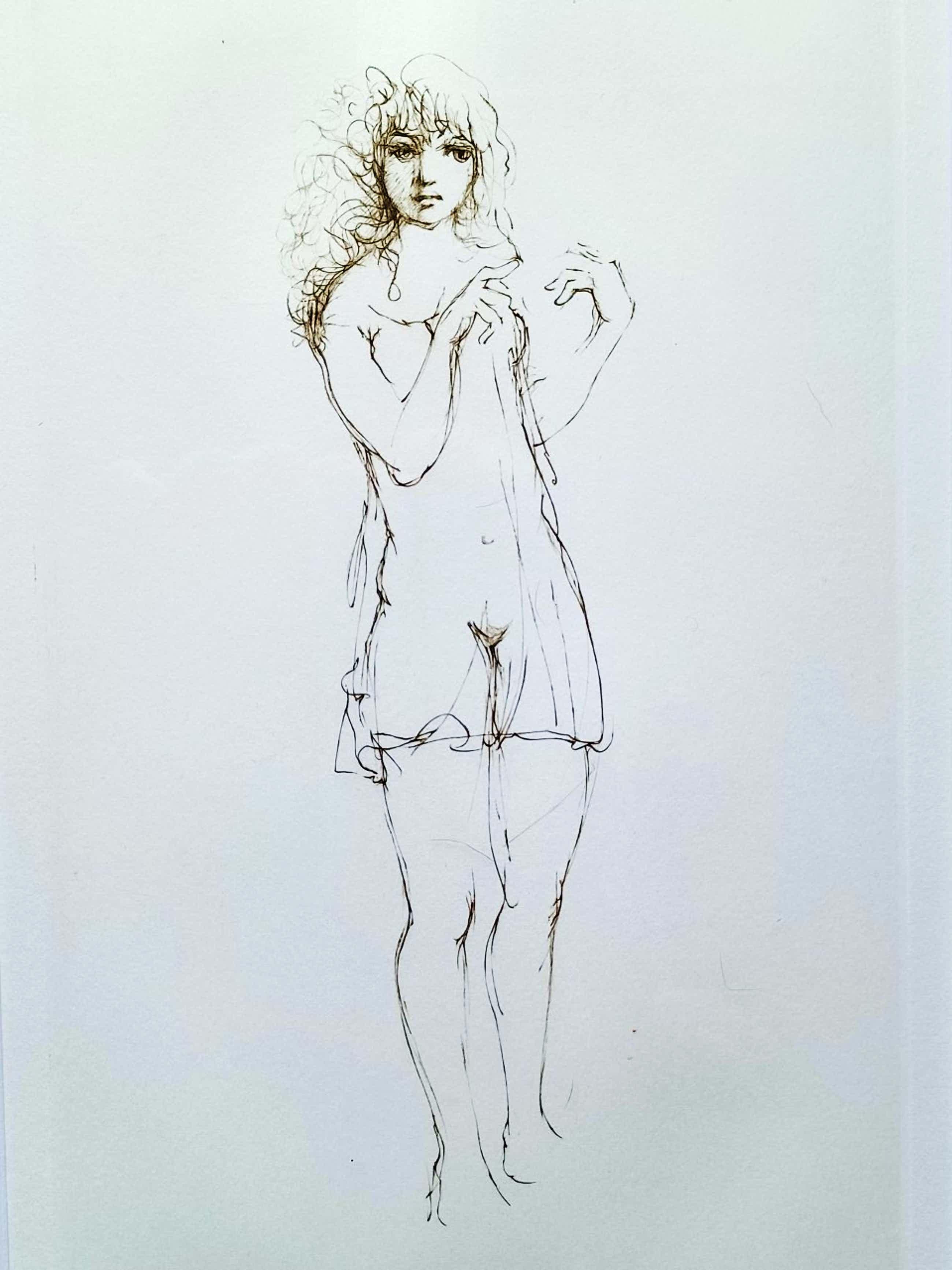 Leonor Fini - Dame in peignoir. kopen? Bied vanaf 79!