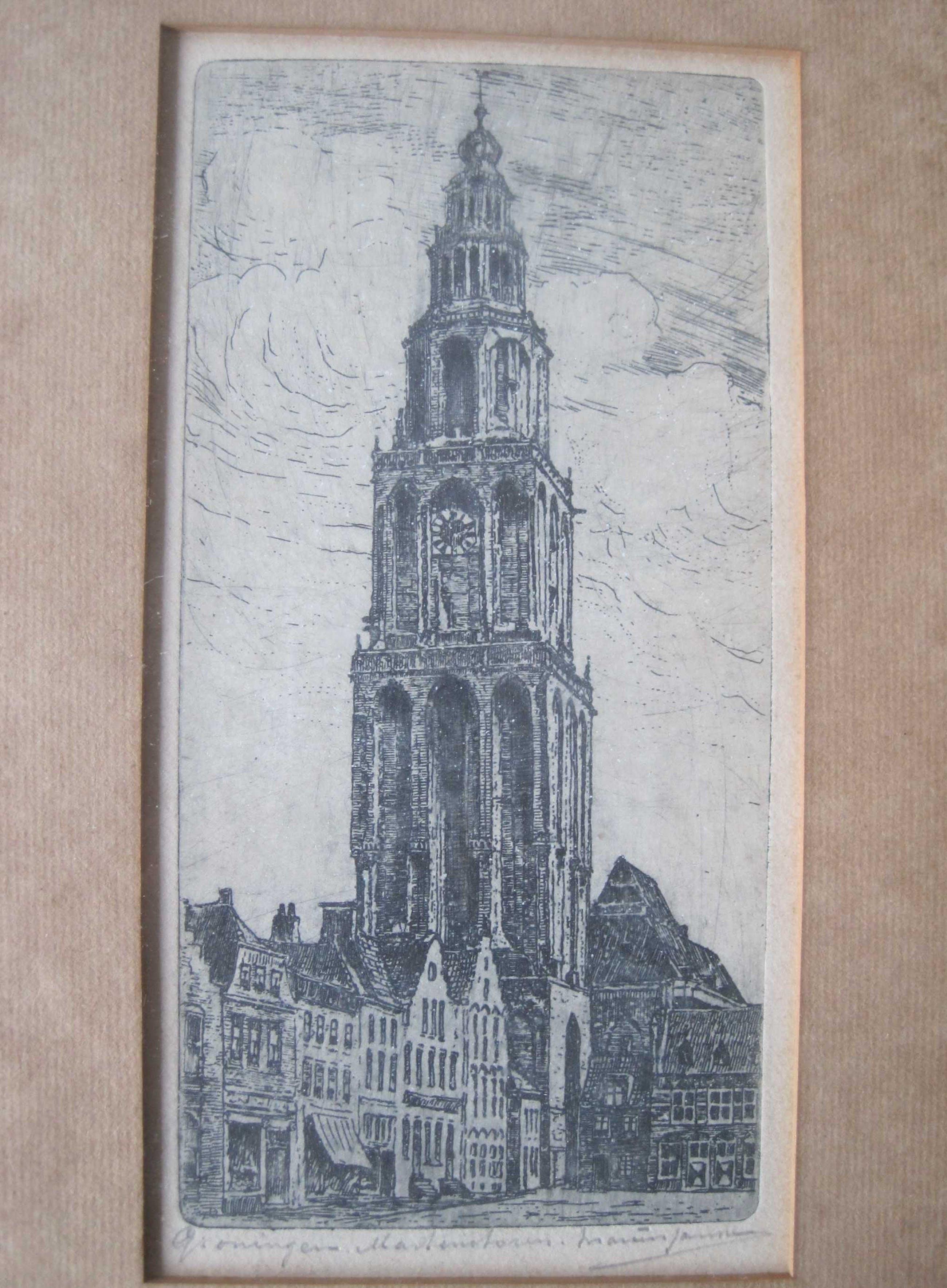 Marius Johannes Janssen - Martinitoren kopen? Bied vanaf 20!