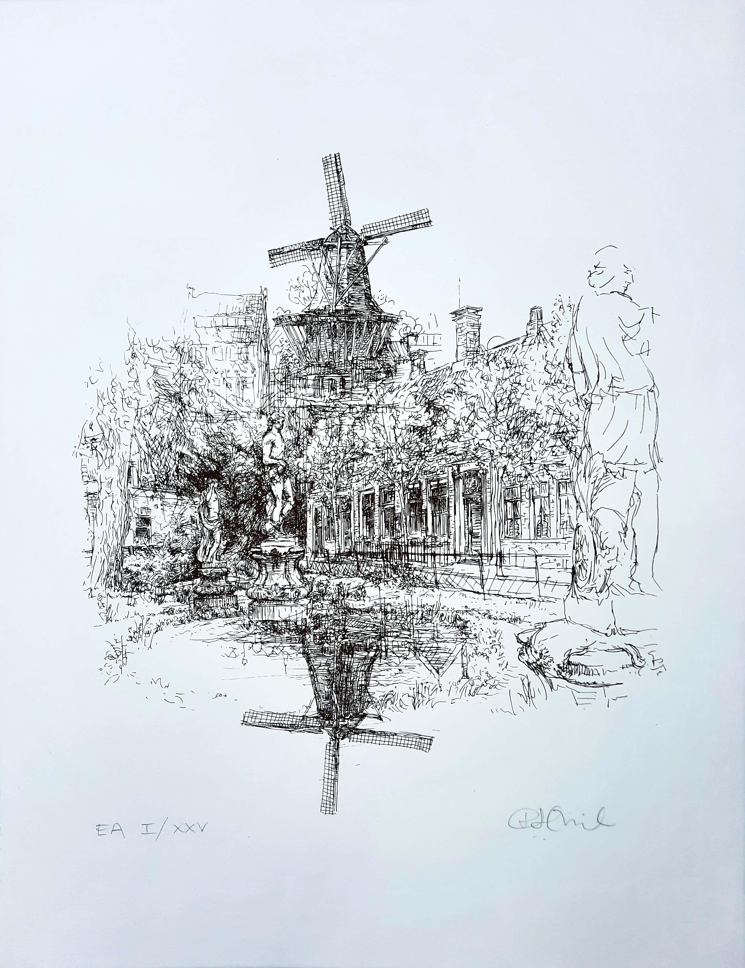 Piet Hein Zijl - zeefdruk - Zaandijk e.a. I/XXV - 21492 kopen? Bied vanaf 70!