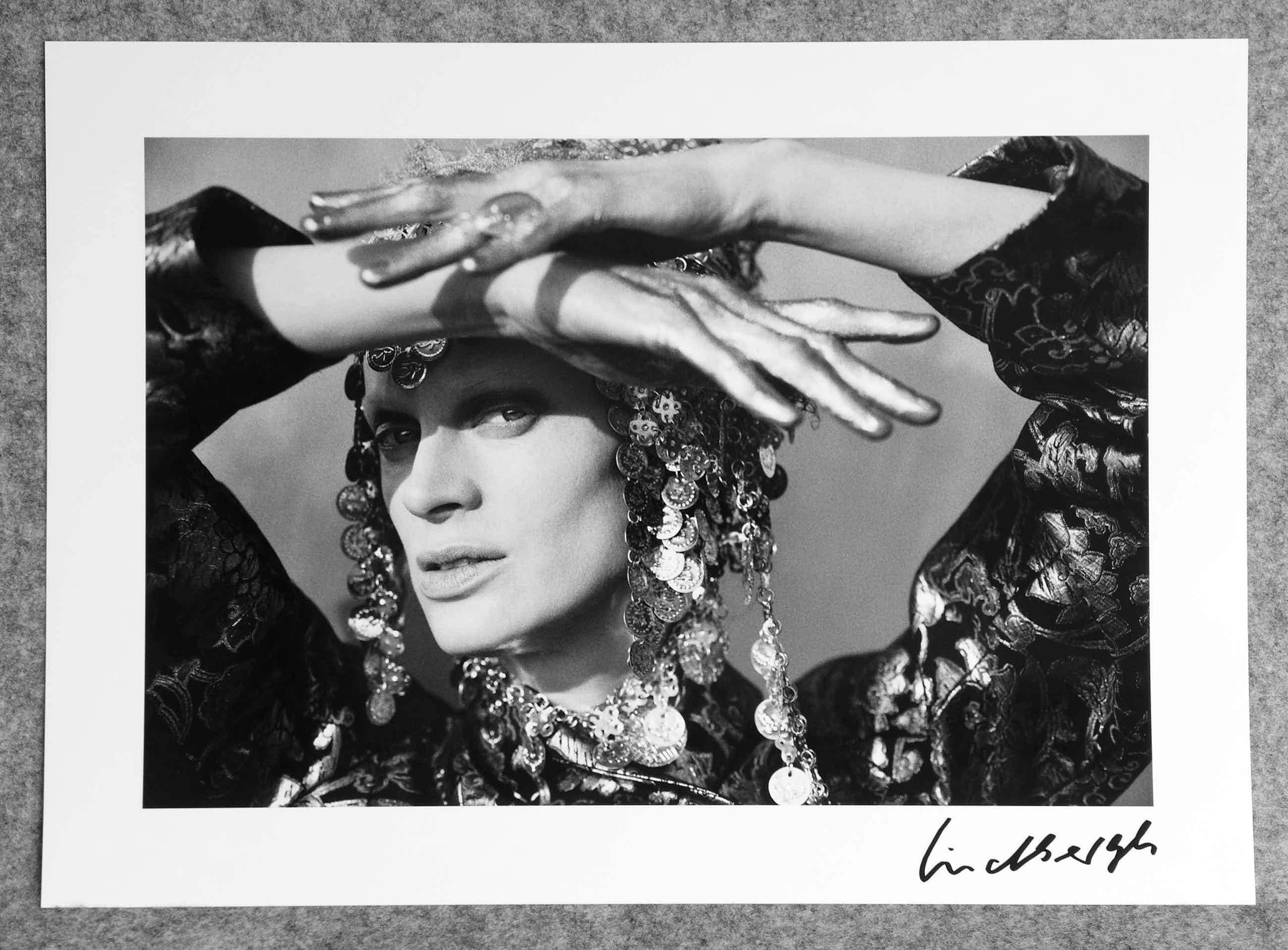 Peter Lindbergh - Autogramm auf Fotografie Kristem McMenamy kopen? Bied vanaf 99!