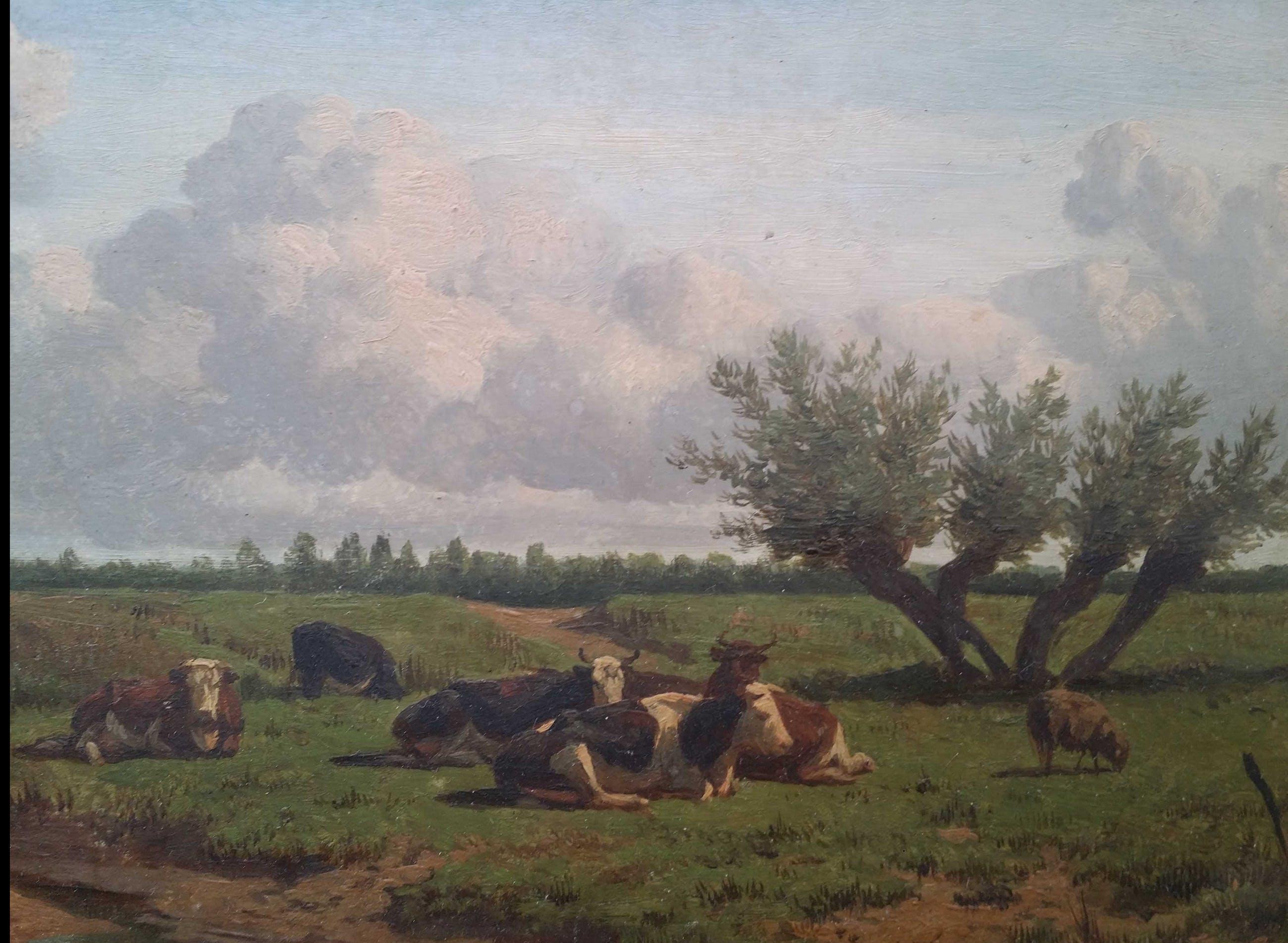 Arie Ketting de Koningh - Koeien in de wei. kopen? Bied vanaf 900!