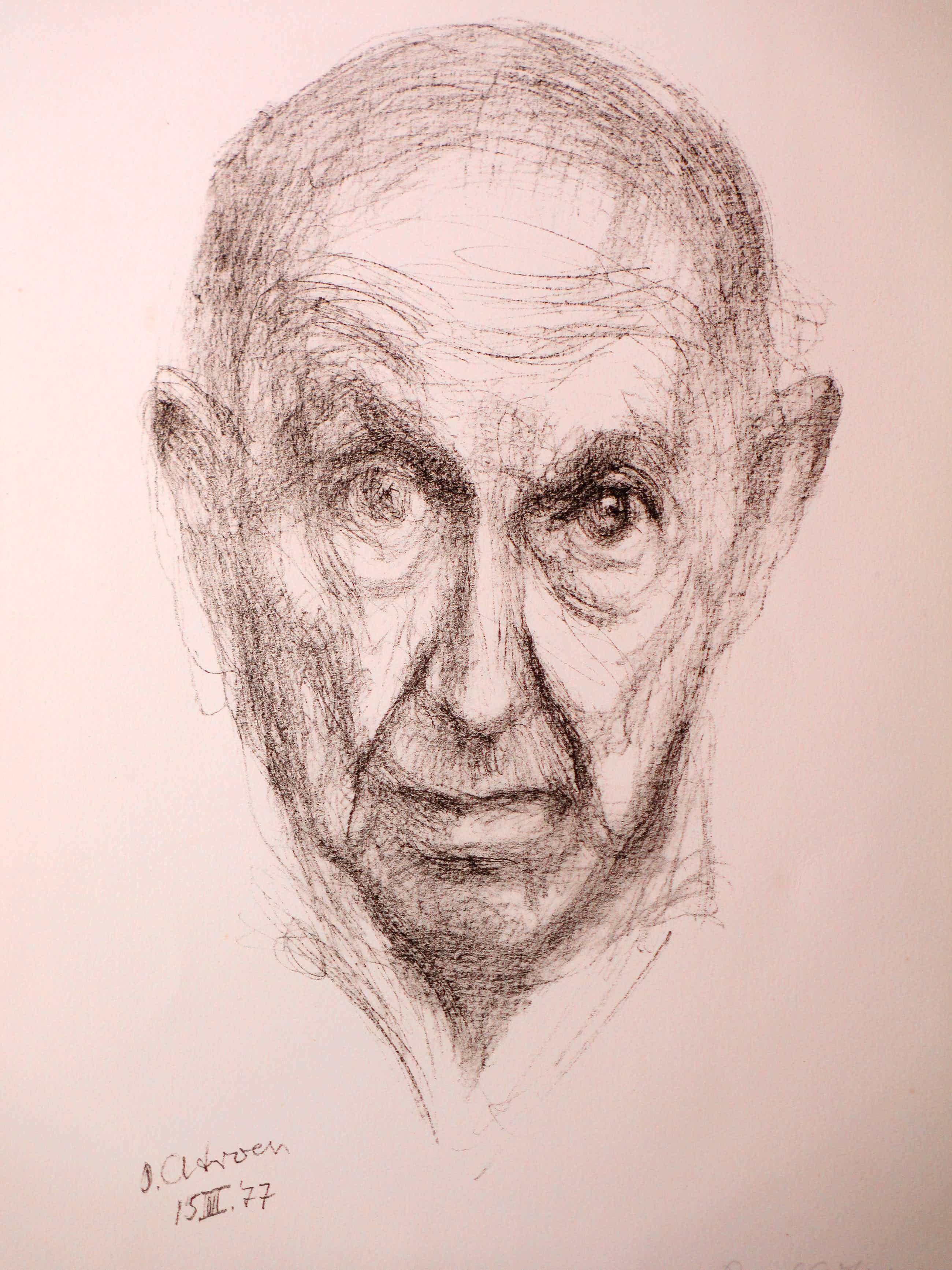 Paul Citroen - Zelfportret - Litho kopen? Bied vanaf 65!