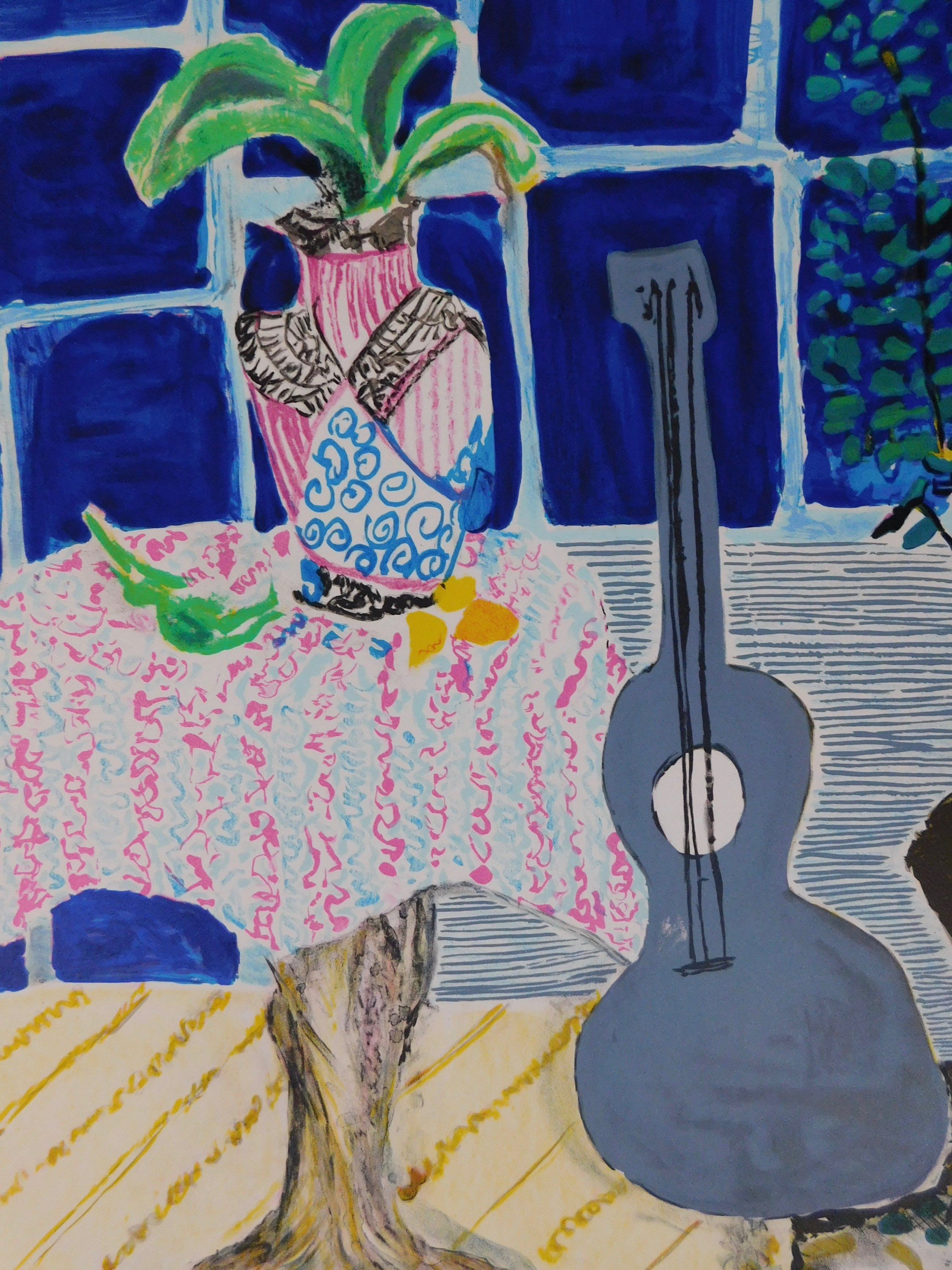 Wendy Chazin - Composition with Guitar and Vase kopen? Bied vanaf 25!