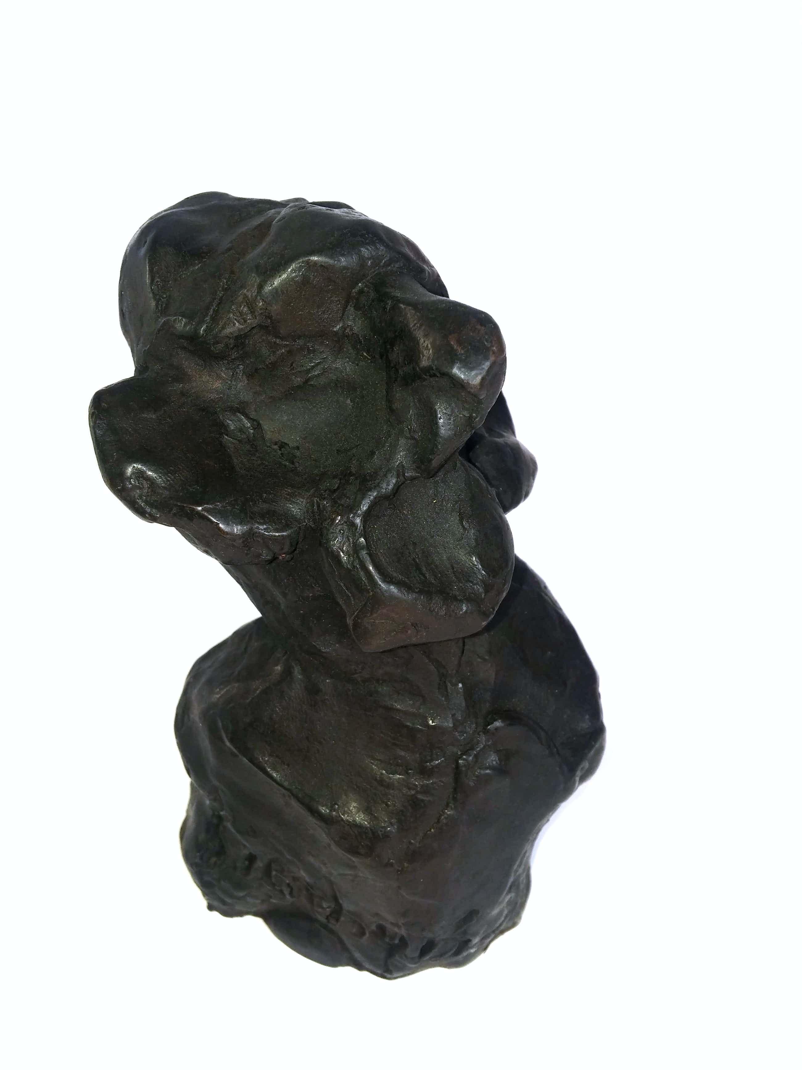 Jan Sierhuis - Cantaor II - brons - oplage slechts 7 kopen? Bied vanaf 295!