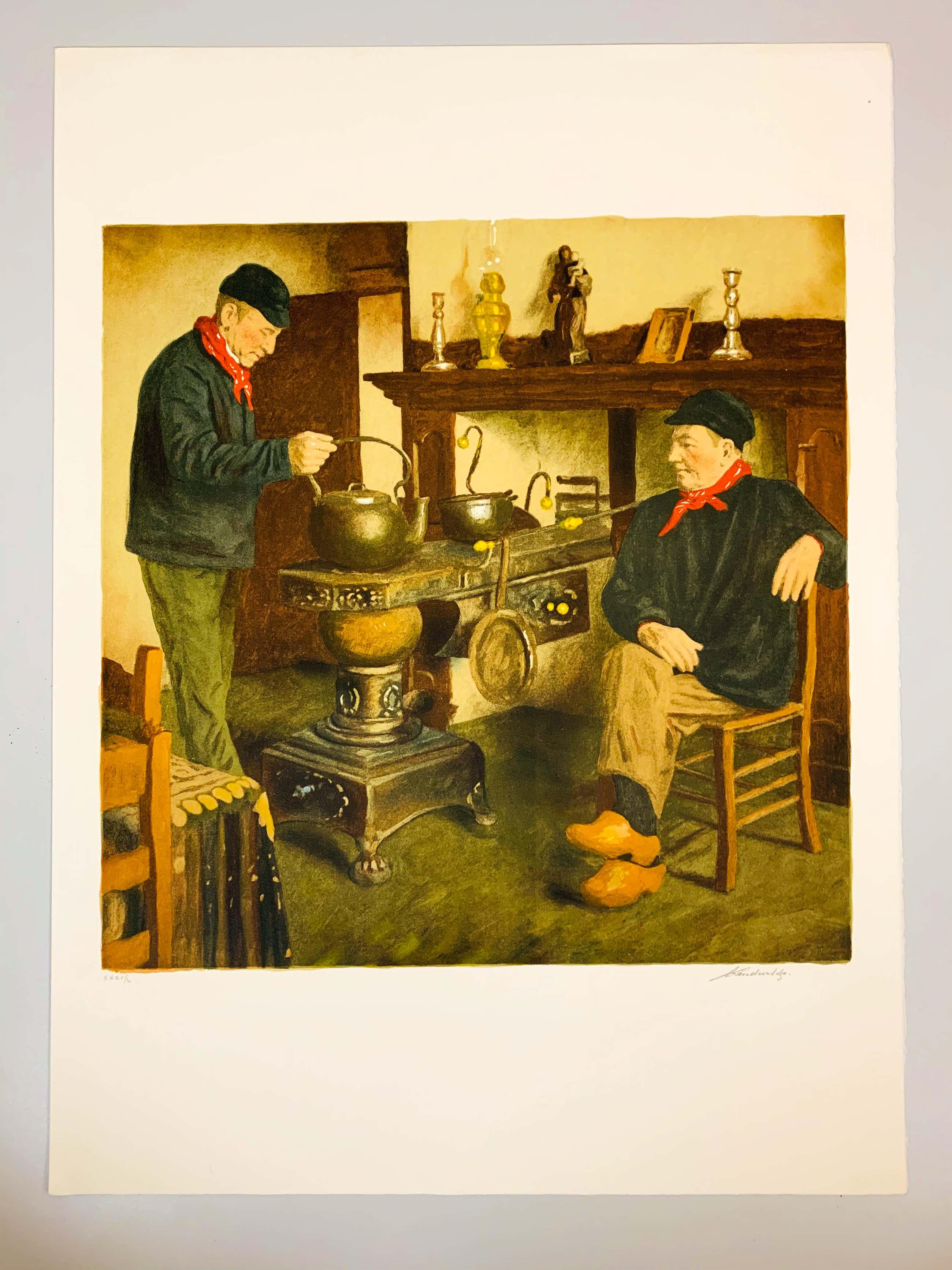Lucien Van de Velde - By the stove kopen? Bied vanaf 20!