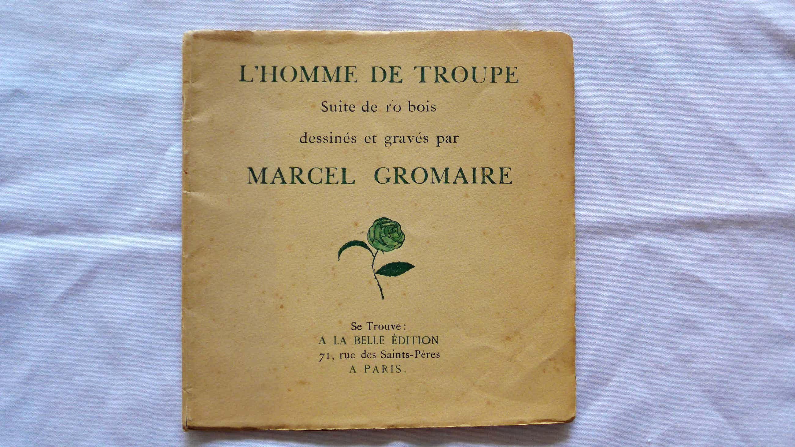 Marcel Gromaire - L'HOMME DE TROUPE kopen? Bied vanaf 250!
