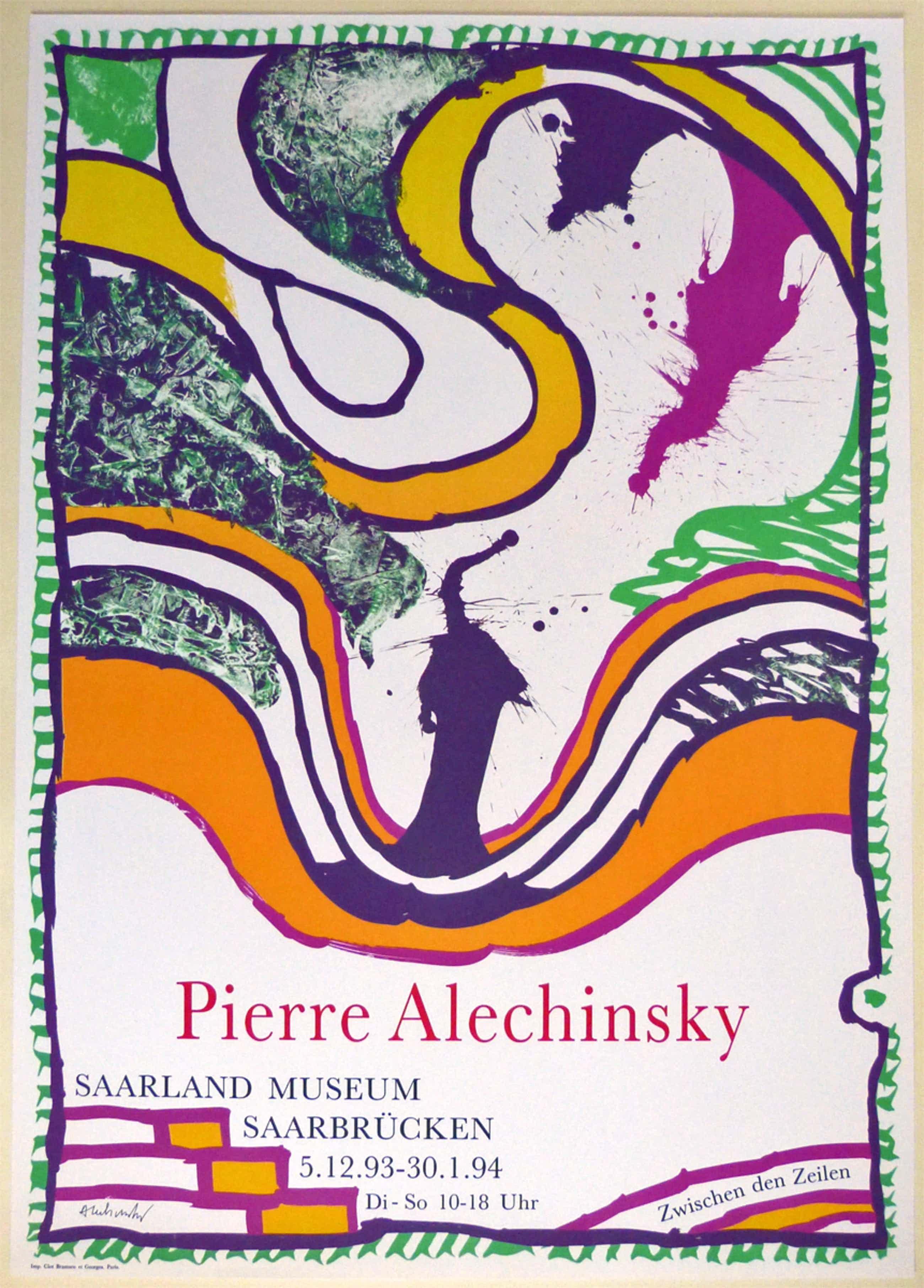 Pierre Alechinsky - Plakat-Vorzugsausgabe Saarland Museum kopen? Bied vanaf 250!