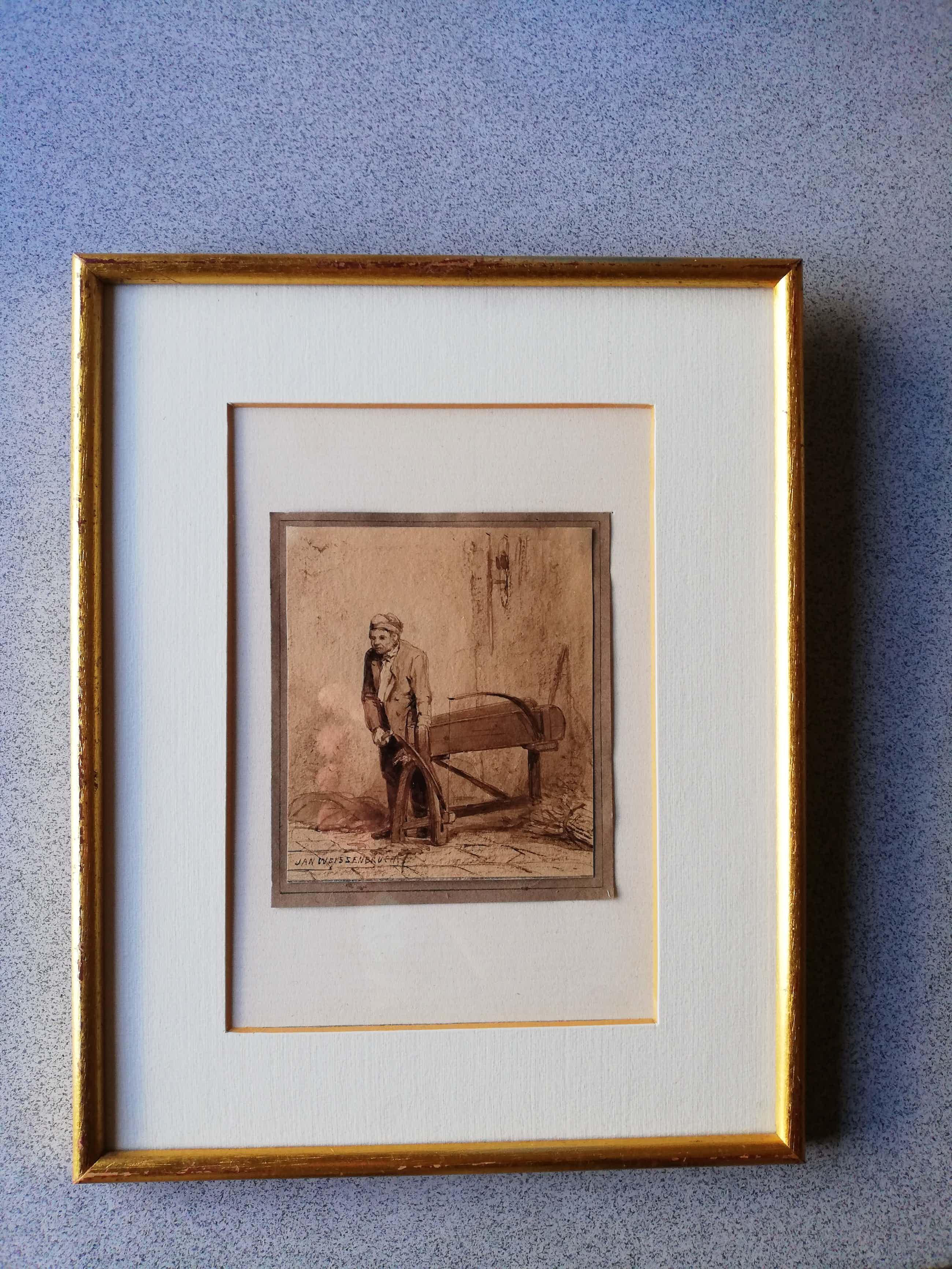 Jan Weissenbruch - Kunstwerk in Oost Indische Inkt kopen? Bied vanaf 105!