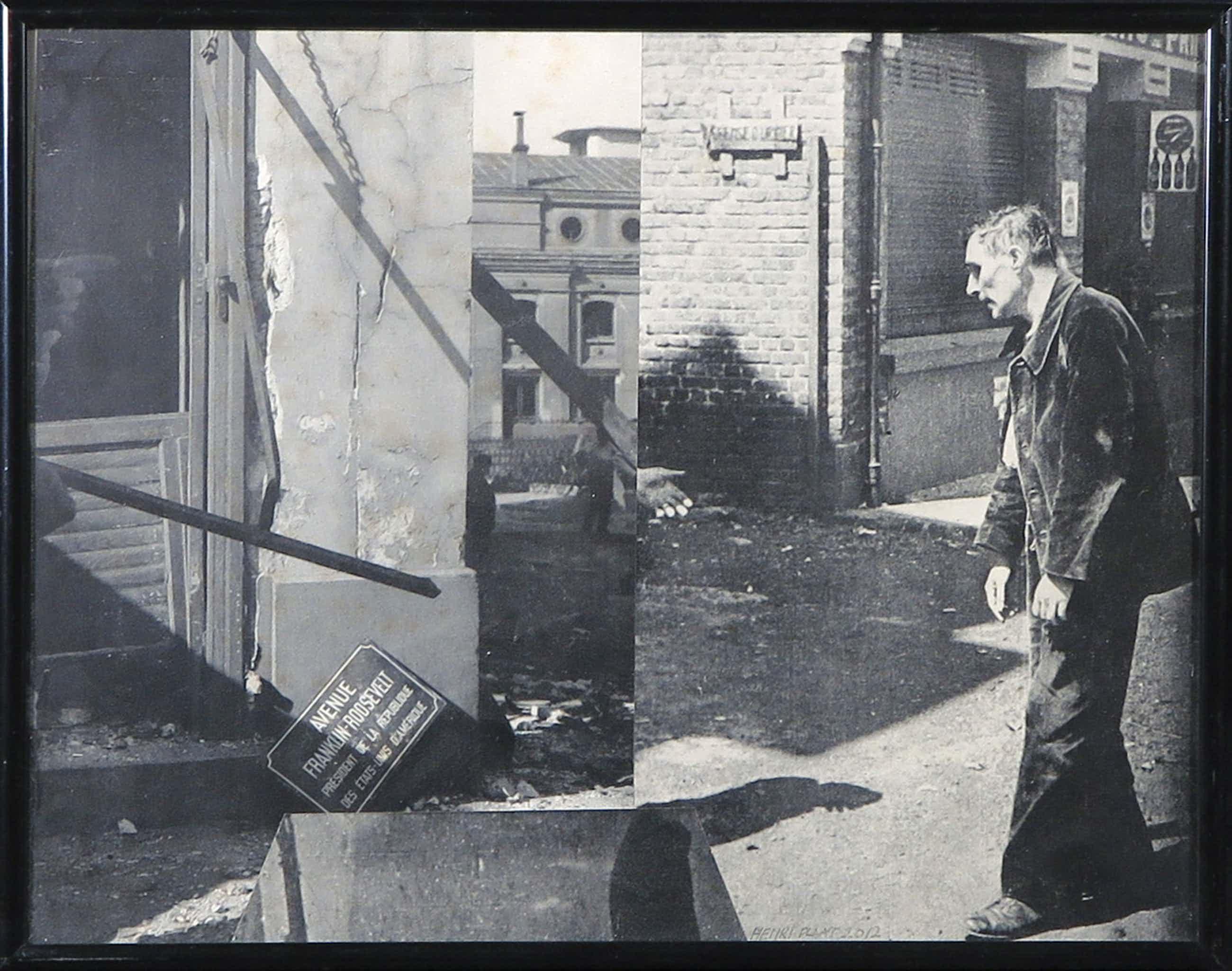 Henri Plaat - Collage, Avenue Franklin Roosevelt kopen? Bied vanaf 63!