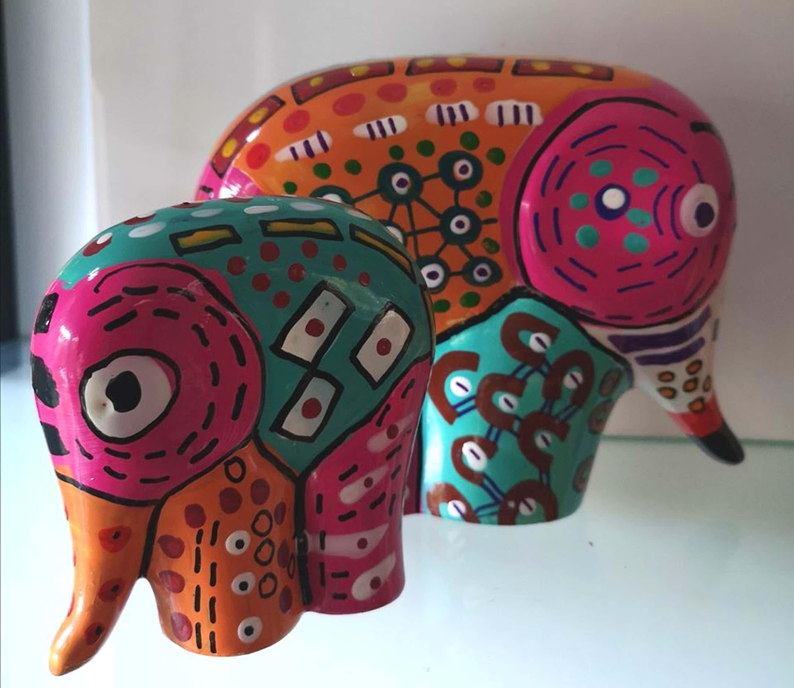 Zippora Sahanaja - Zippora design® ---Happy Elephant ---- kopen? Bied vanaf 35!