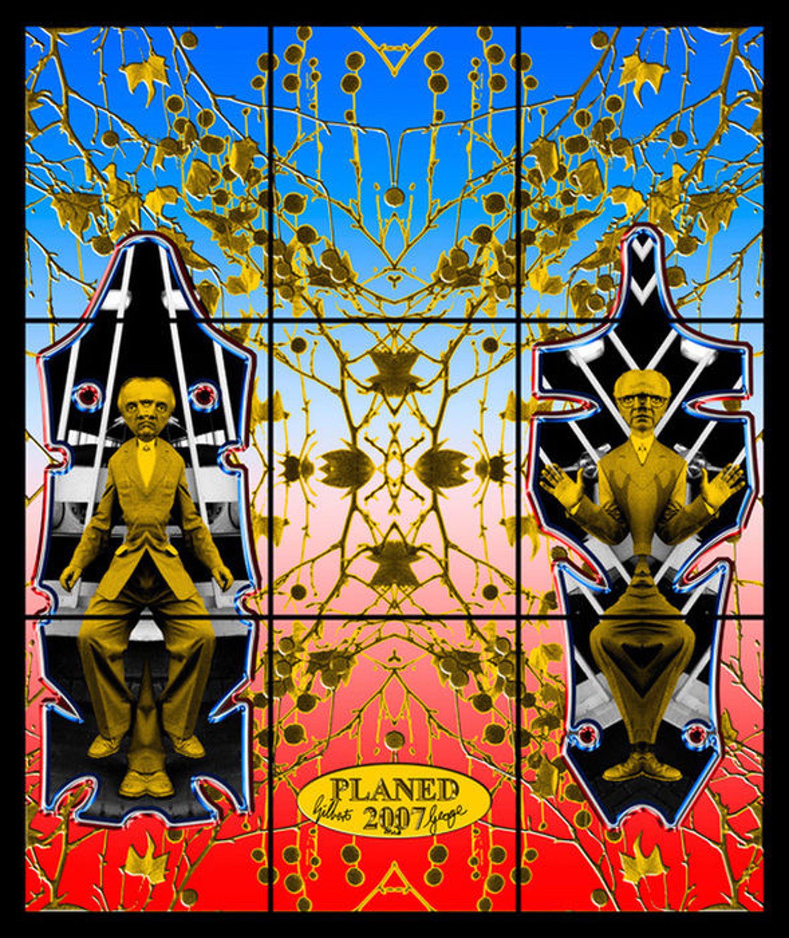 Gilbert & George - Planed kopen? Bied vanaf 1!