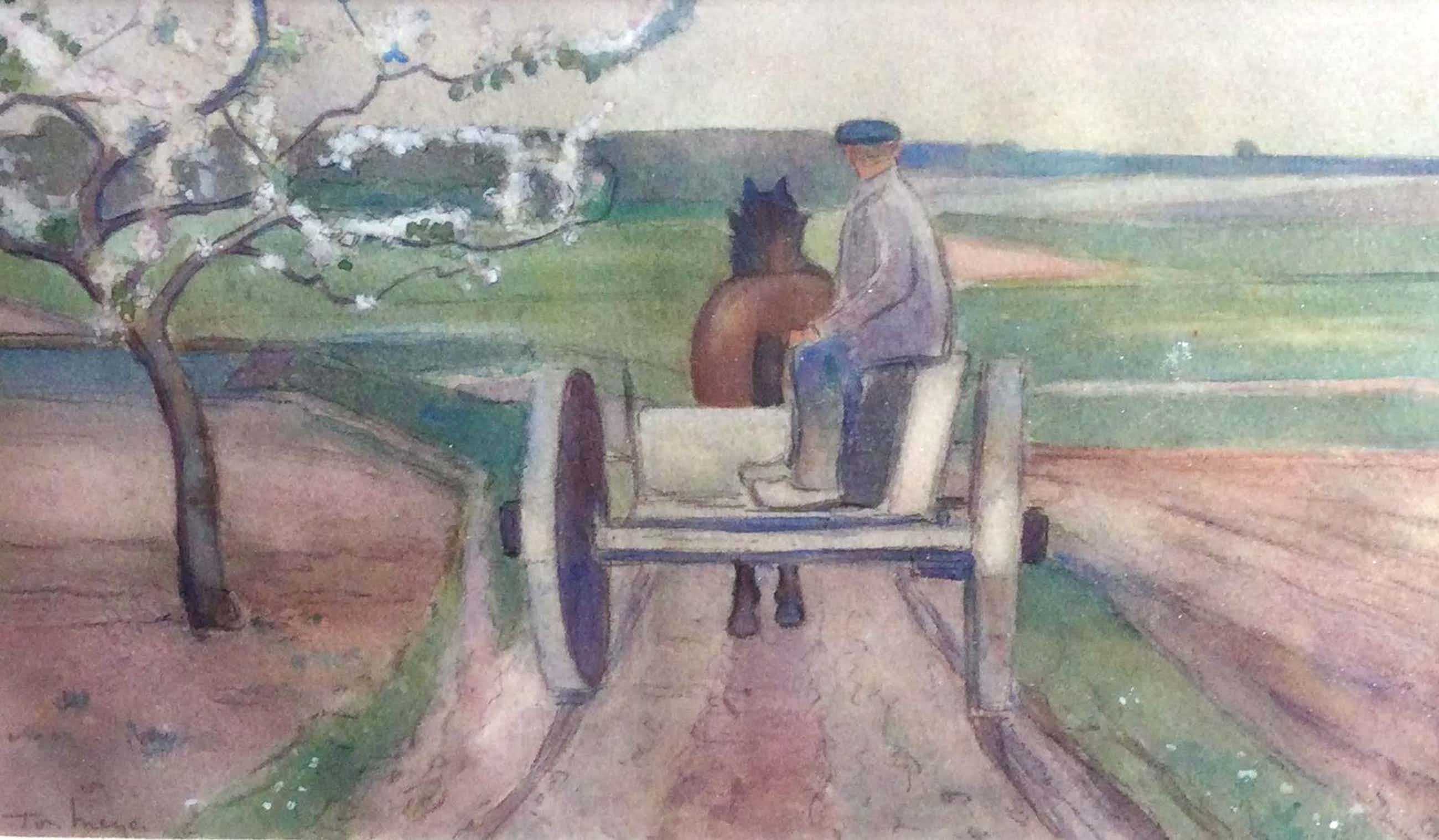 Ton Meyer - C5056-2, Rijden met paard en wagen kopen? Bied vanaf 50!