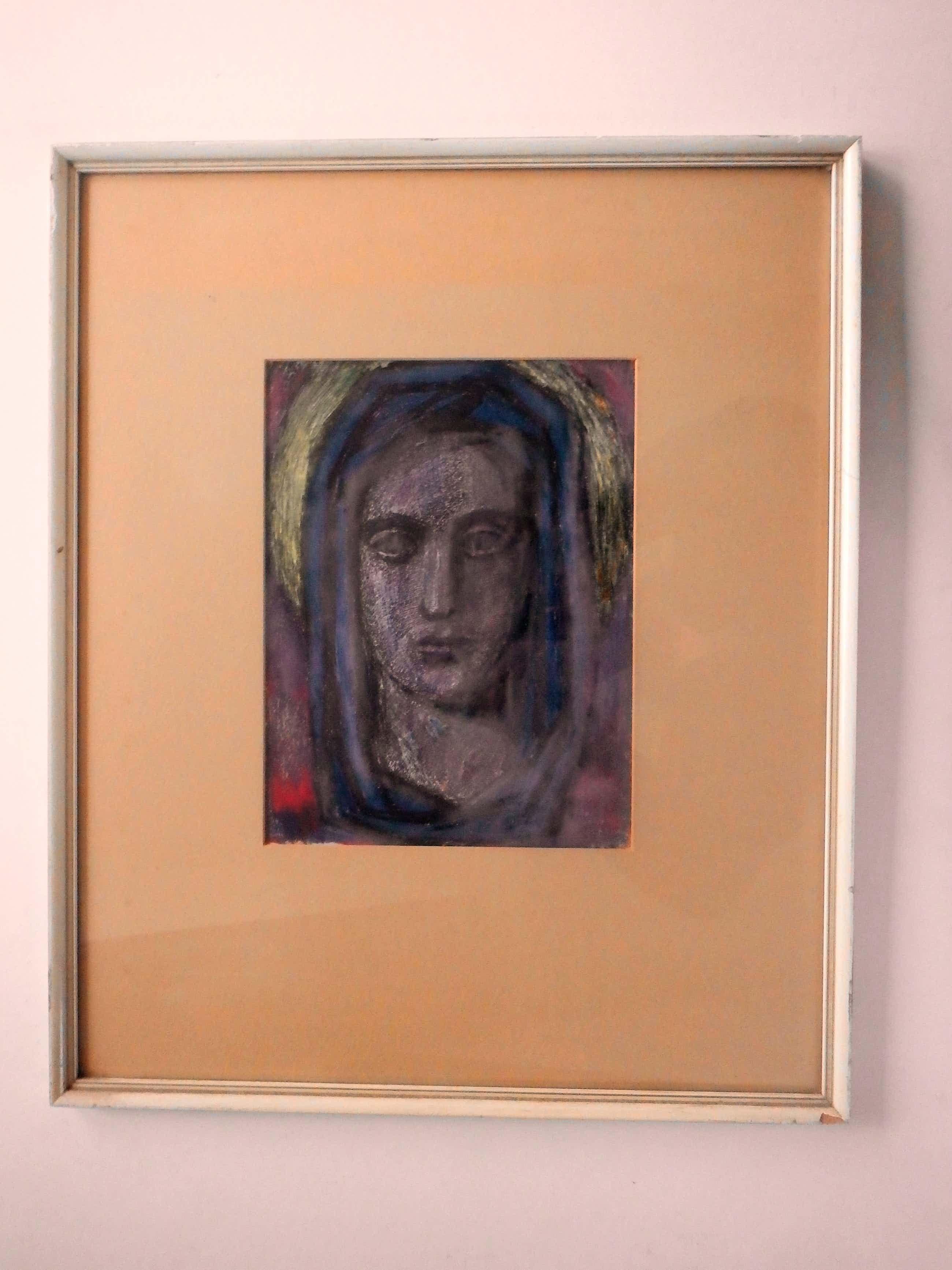 Joop Liesker - mysterieus portret kopen? Bied vanaf 45!