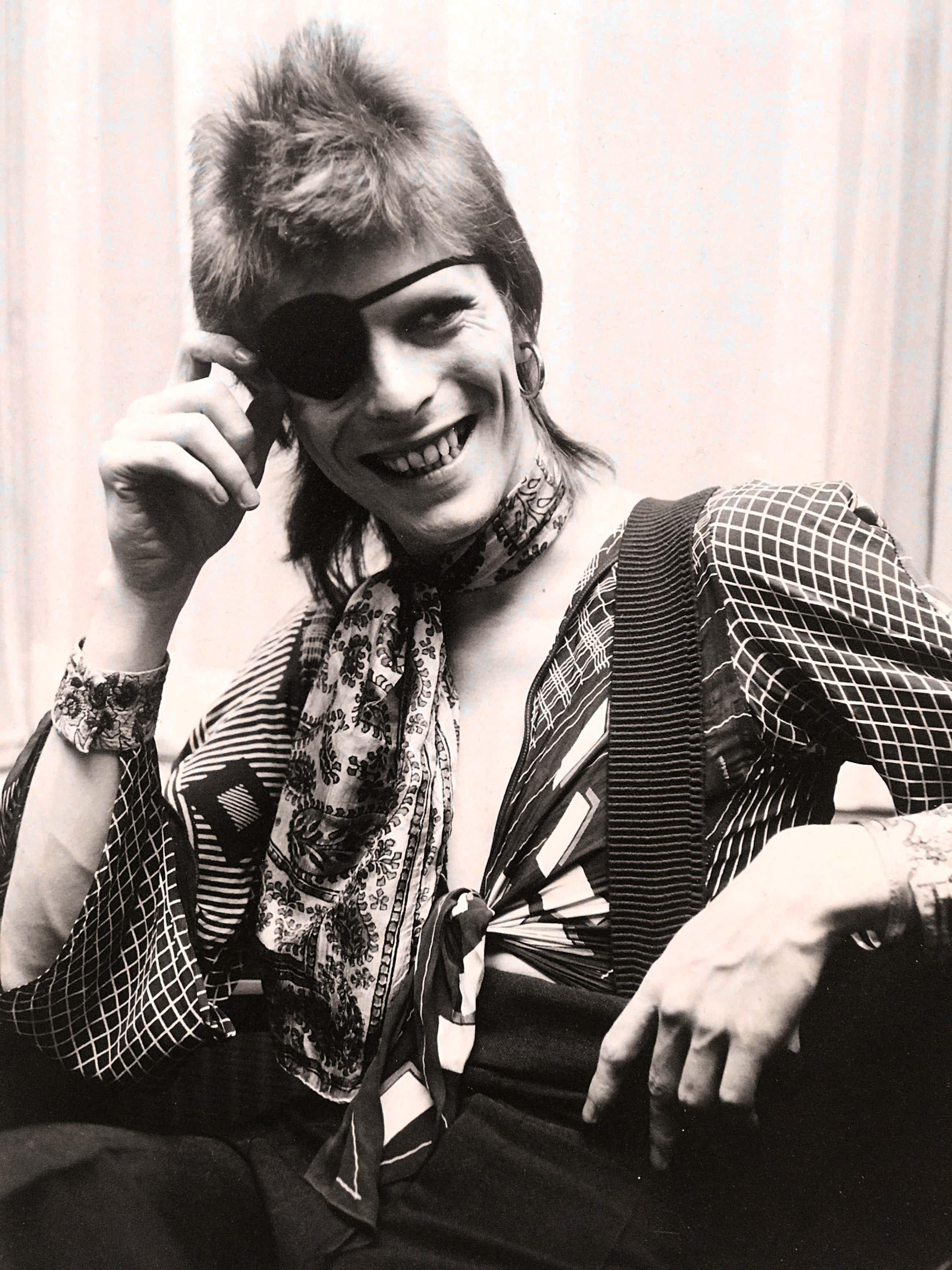 Nico Koster - David Bowie Amstelhotel 1974 kopen? Bied vanaf 280!