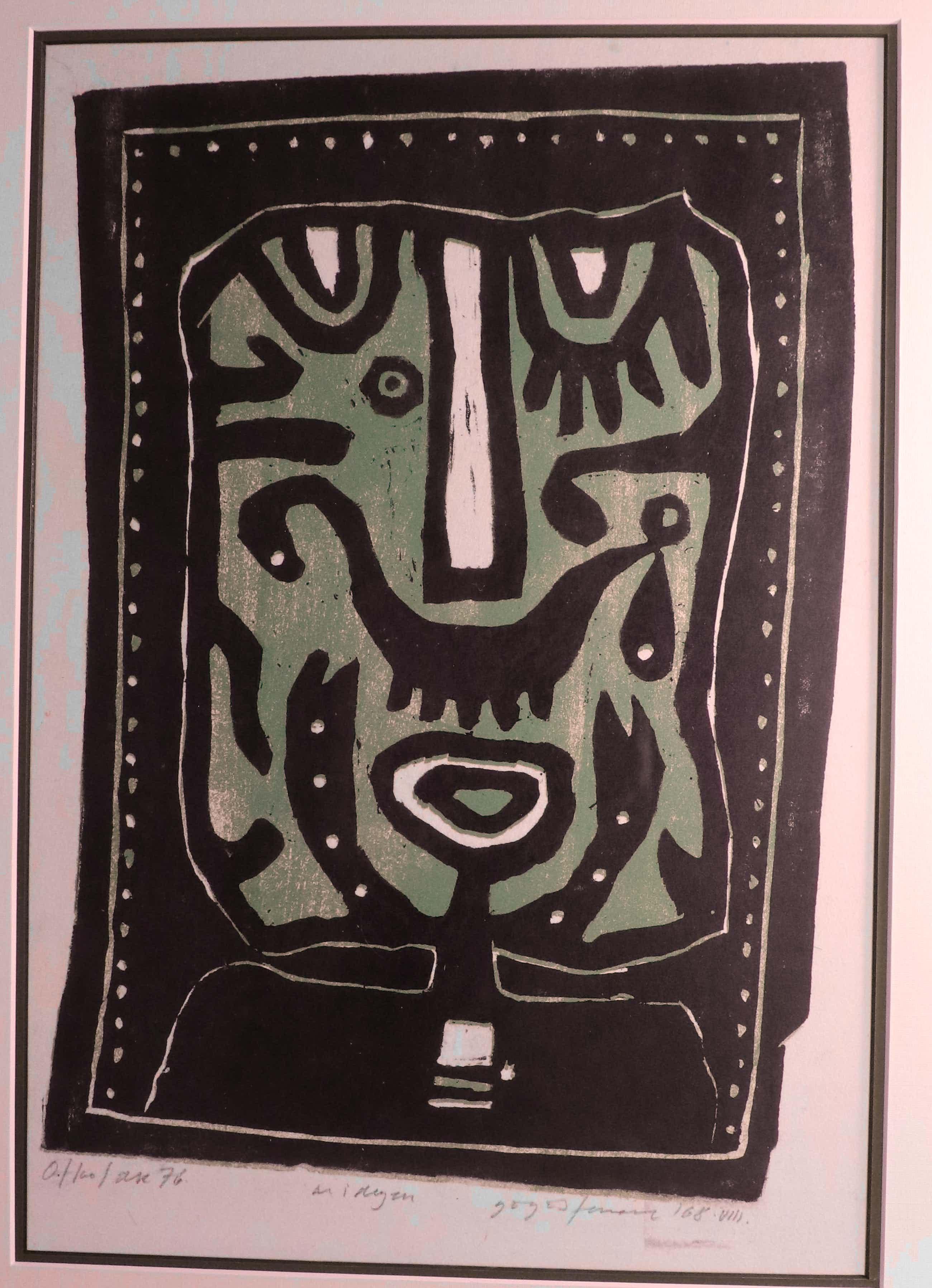 Ferenc Gogos - Abstracte compositie kopen? Bied vanaf 75!