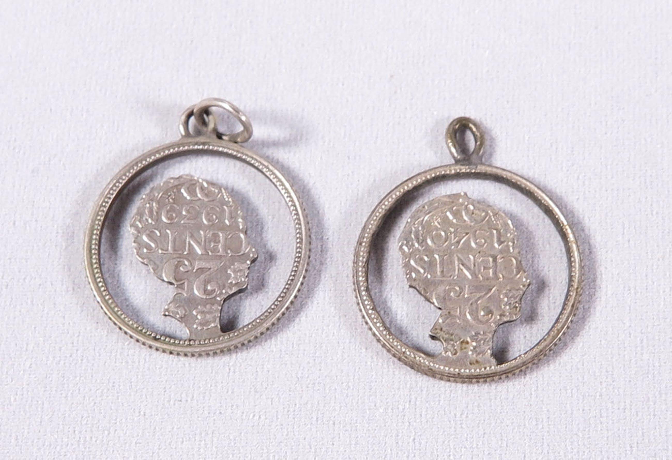 Zilver - Lotje divers zilver. Sieraden met munten kopen? Bied vanaf 1!