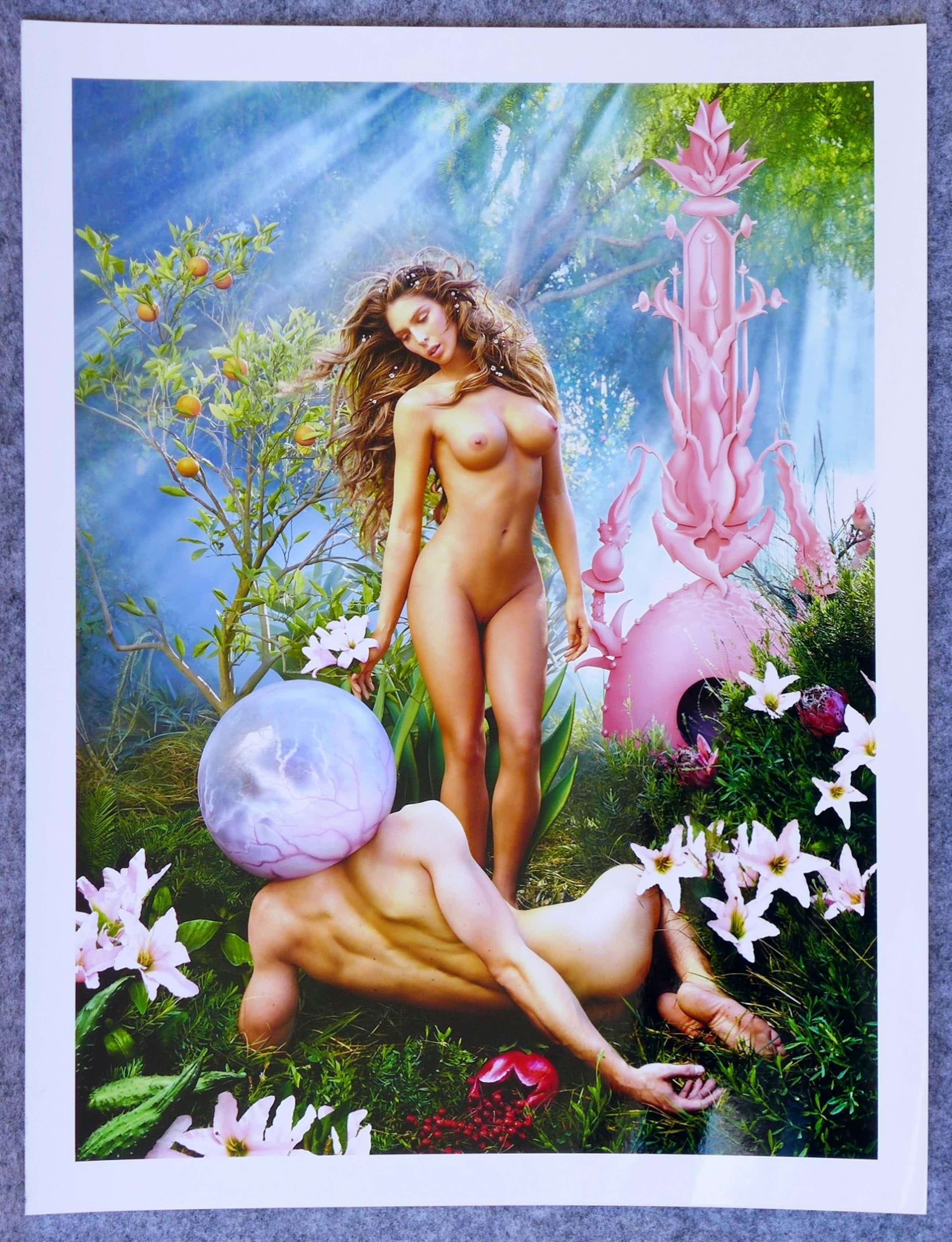 David LaChapelle - Autogramm auf Fotografie Life Ball 2014 Carmen Carrera Trans Gender Model kopen? Bied vanaf 49!